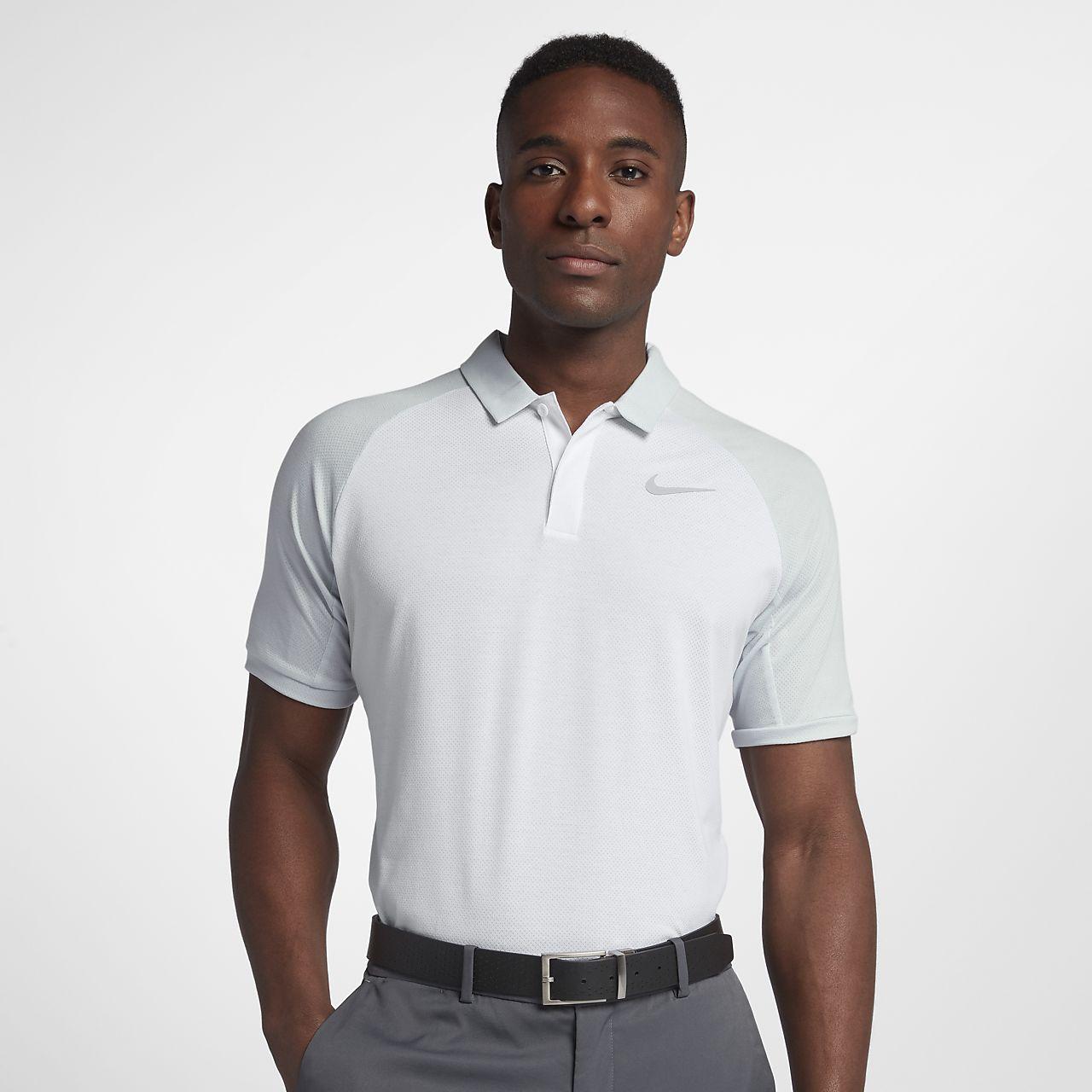 Golfpikétröja Nike Dri-FIT med normal passform för män