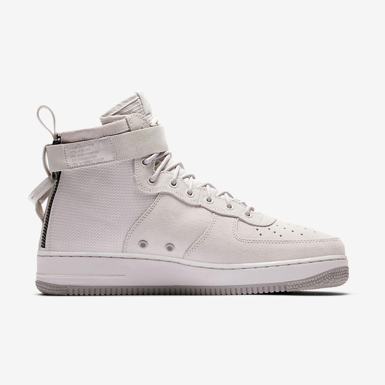 Sf Nike Air Force Chaussures En Daim Gris Moyen SYvEYpDY
