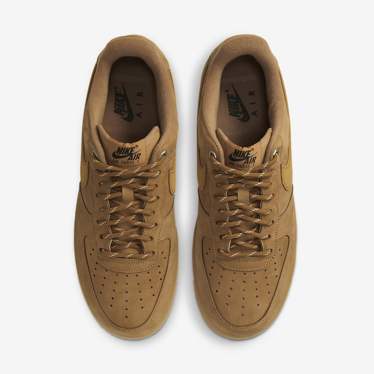 nike AIR FORCE 1 '07 WB FLAXFLAX GUM LIGHT BROWN OUTDOOR