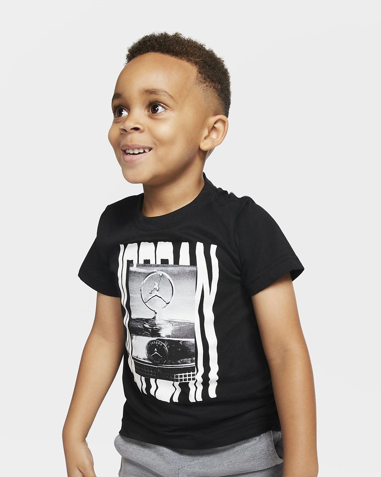 Kortærmet Jordan Jumpman-T-shirt til små børn