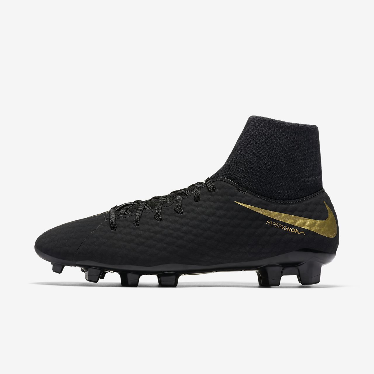 Nike Hypervenom Phantom III Academy Dynamic Fit FG FirmGround Soccer  Cleat