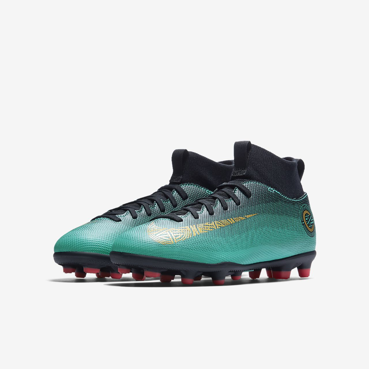 reputable site 07ea7 a4e0b ... Nike Jr. Mercurial Superfly VI Club CR7 Younger Older Kids  Multi-Ground