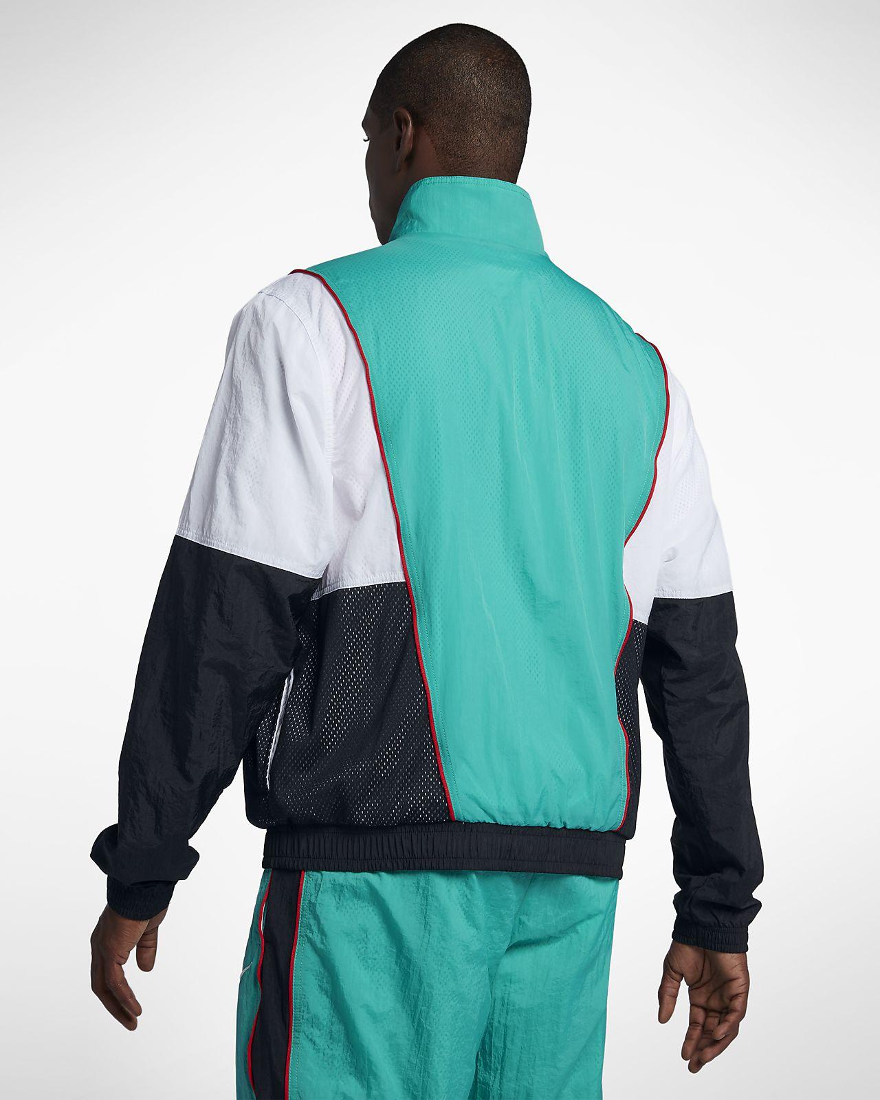caae70fe6931 Nike Throwback Men s Tracksuit Basketball Jacket. Nike.com