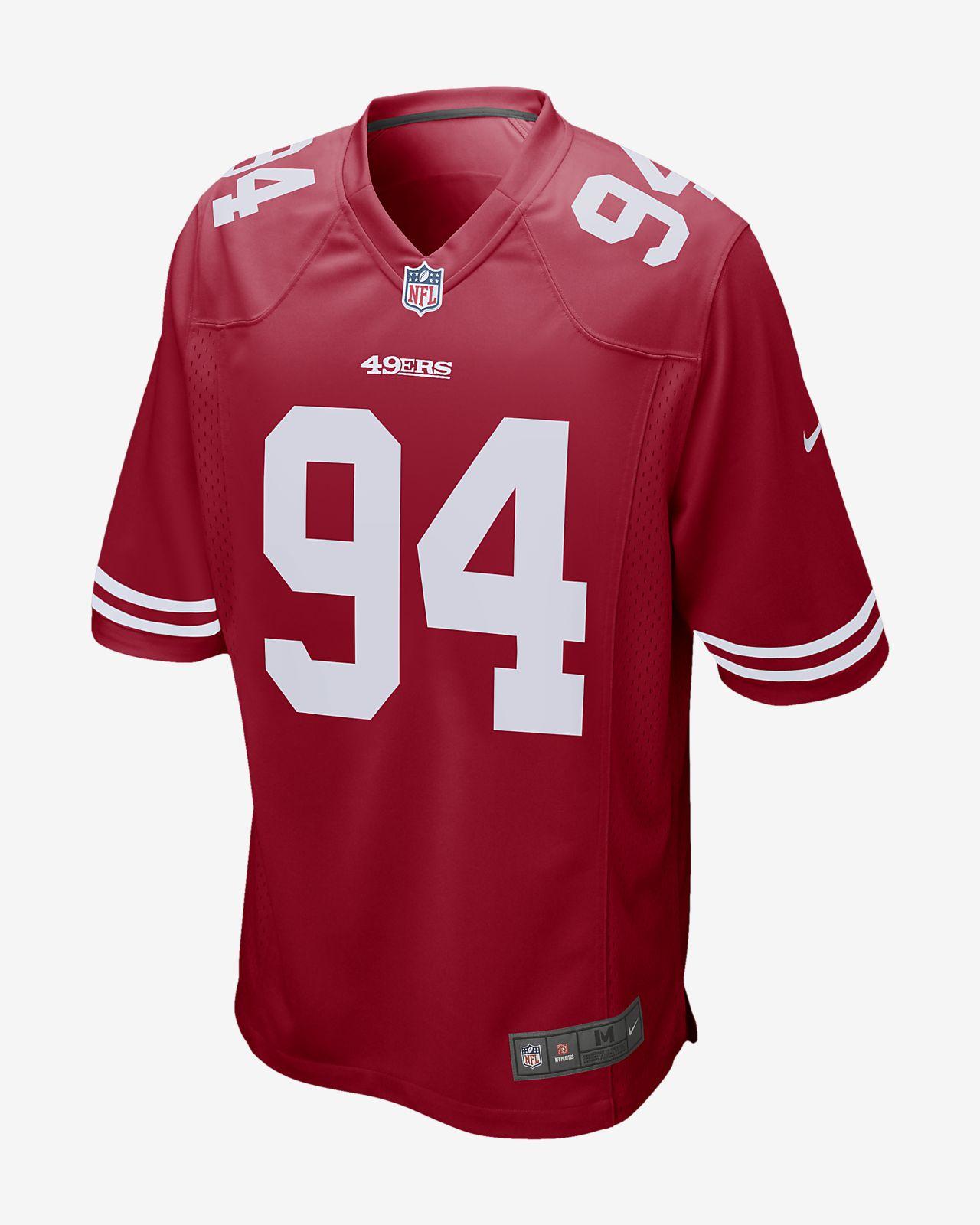 3e5b2a124cdf6 ... Camiseta de fútbol americano para hombre NFL San Francisco 49ers Game  (Solomon Thomas)