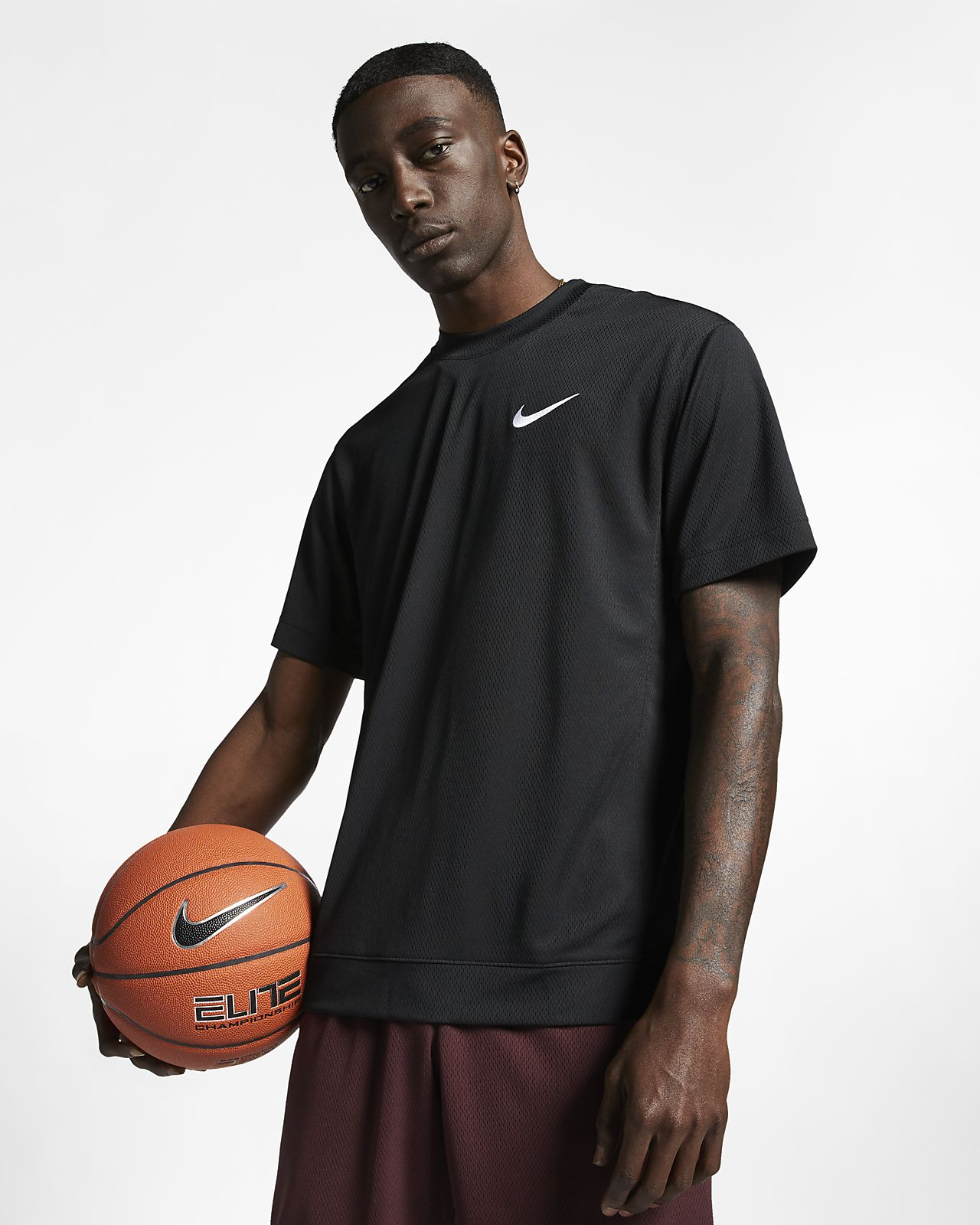 เสื้อบาสเก็ตบอลแขนสั้นผู้ชาย Nike Dri-FIT Classic