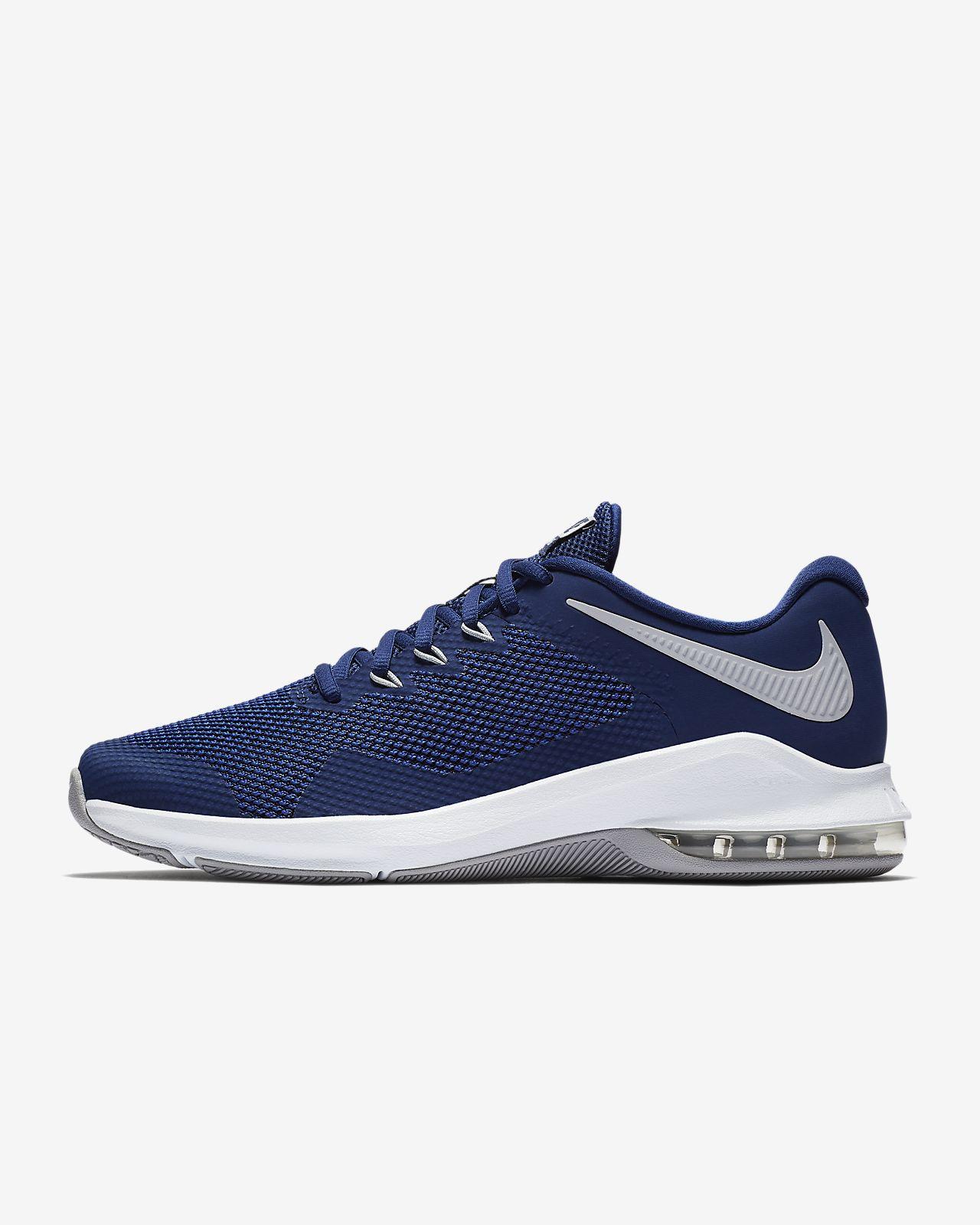 Nike Performance AIR MAX ALPHA TRAINER - Sports shoes - blue force/wolf grey 5ryR83THU
