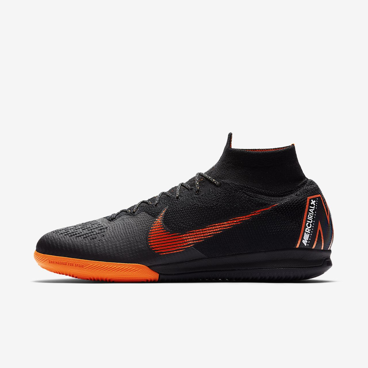 b8a9dc0b52 Chaussures de foot nike Mercurial Victory IV TF Noir Blanc Mercurial Futsal  nike superfly futsal