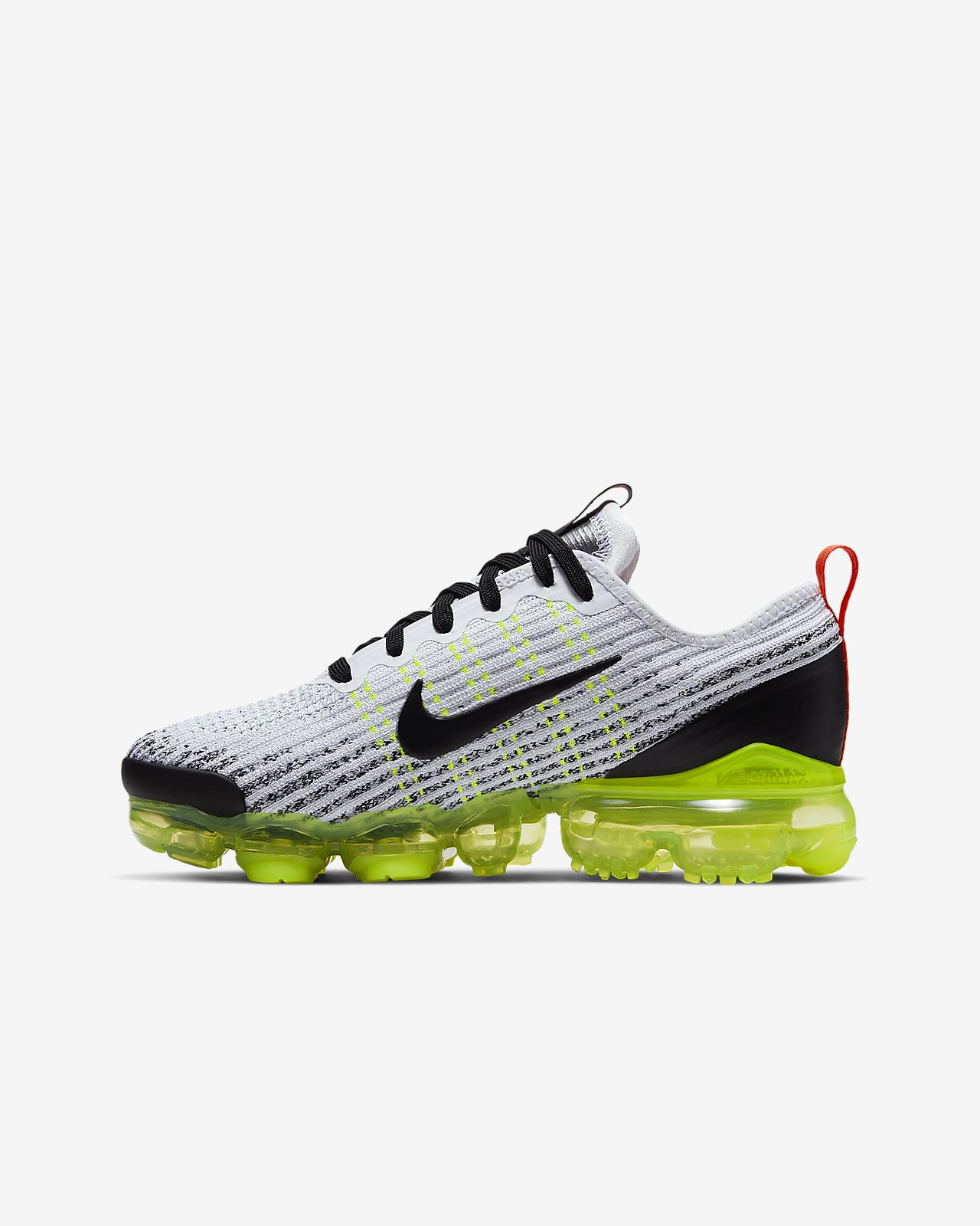 competitive price 3c565 878a0 ... Nike Air VaporMax Flyknit 3 Big Kids  Shoe