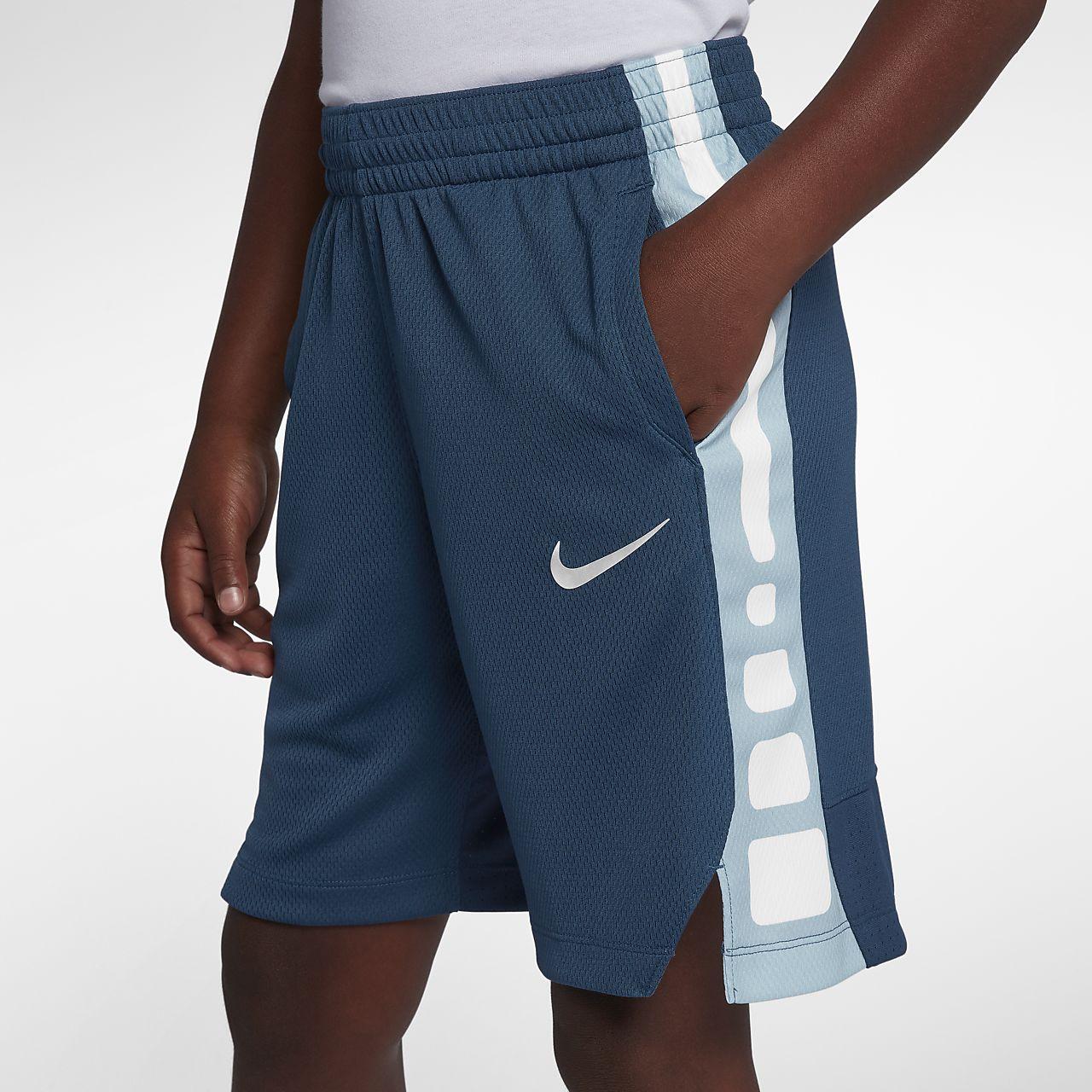 ad3a0b649f81 Nike Dri-FIT Elite Big Kids  (Boys ) Basketball Shorts. Nike.com