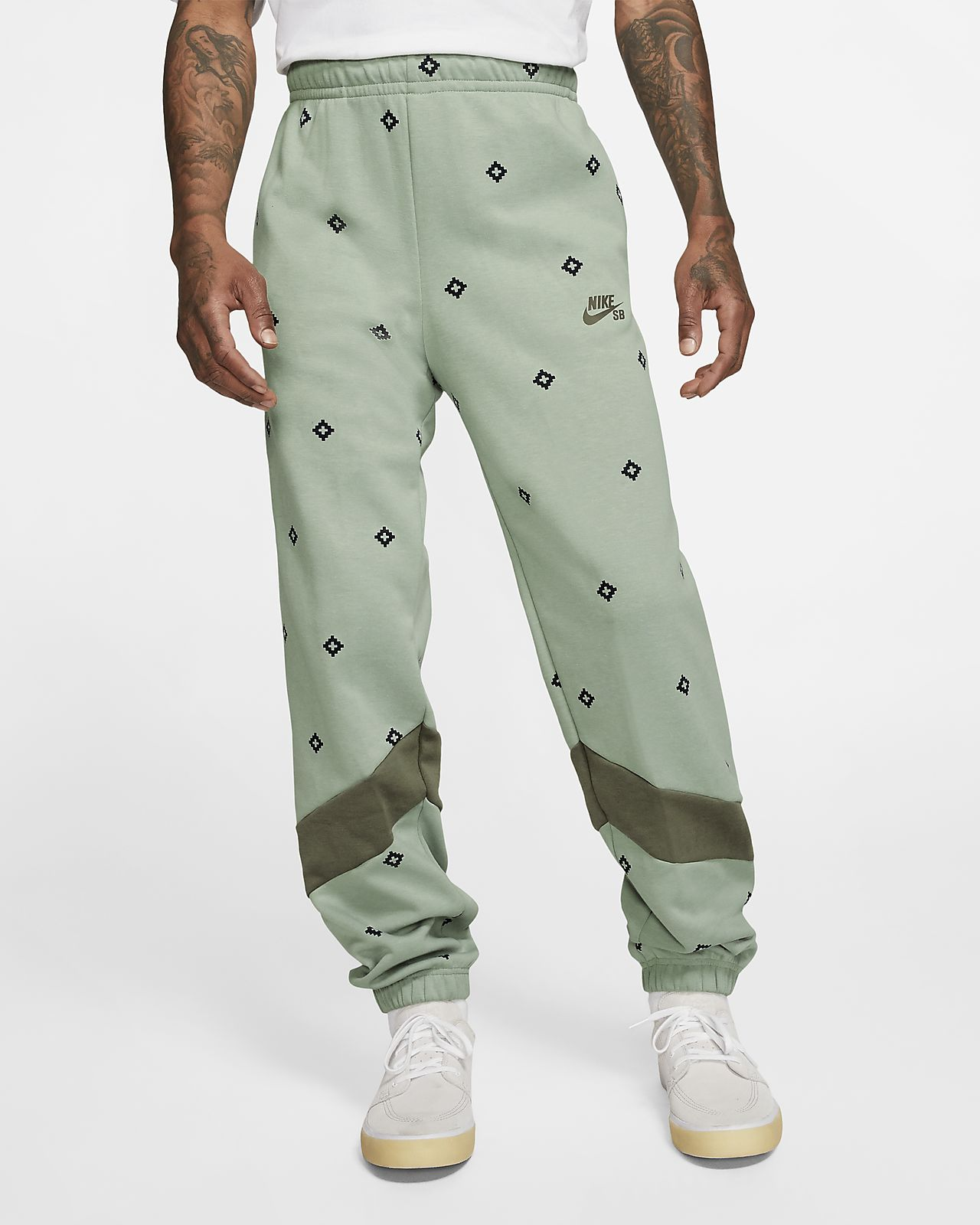 Nike SB Dri-FIT Men's Printed Skate Tracksuit Bottoms