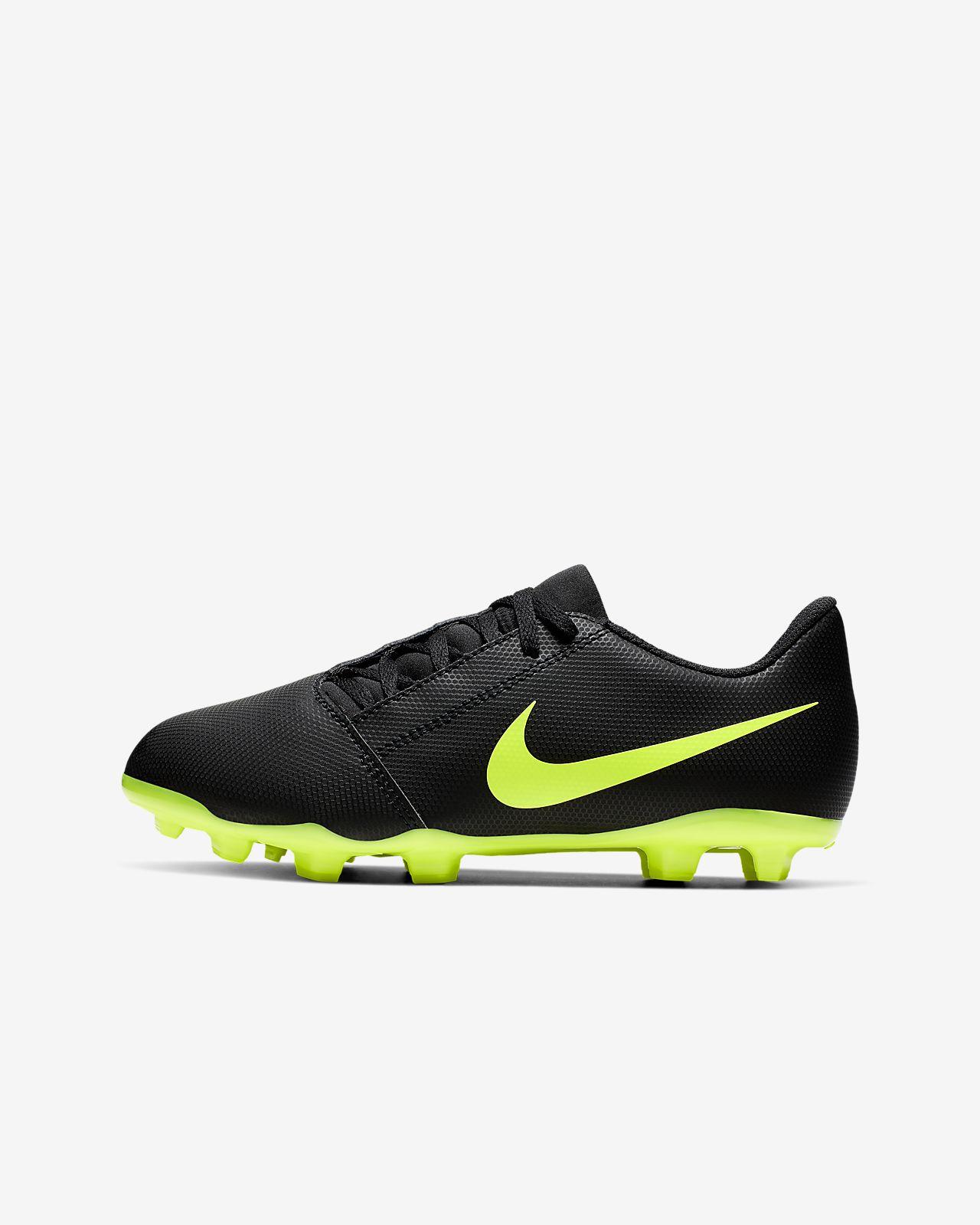 Nike Jr. Phantom Venom Club FG Botes de futbol per a terreny ferm - Nens