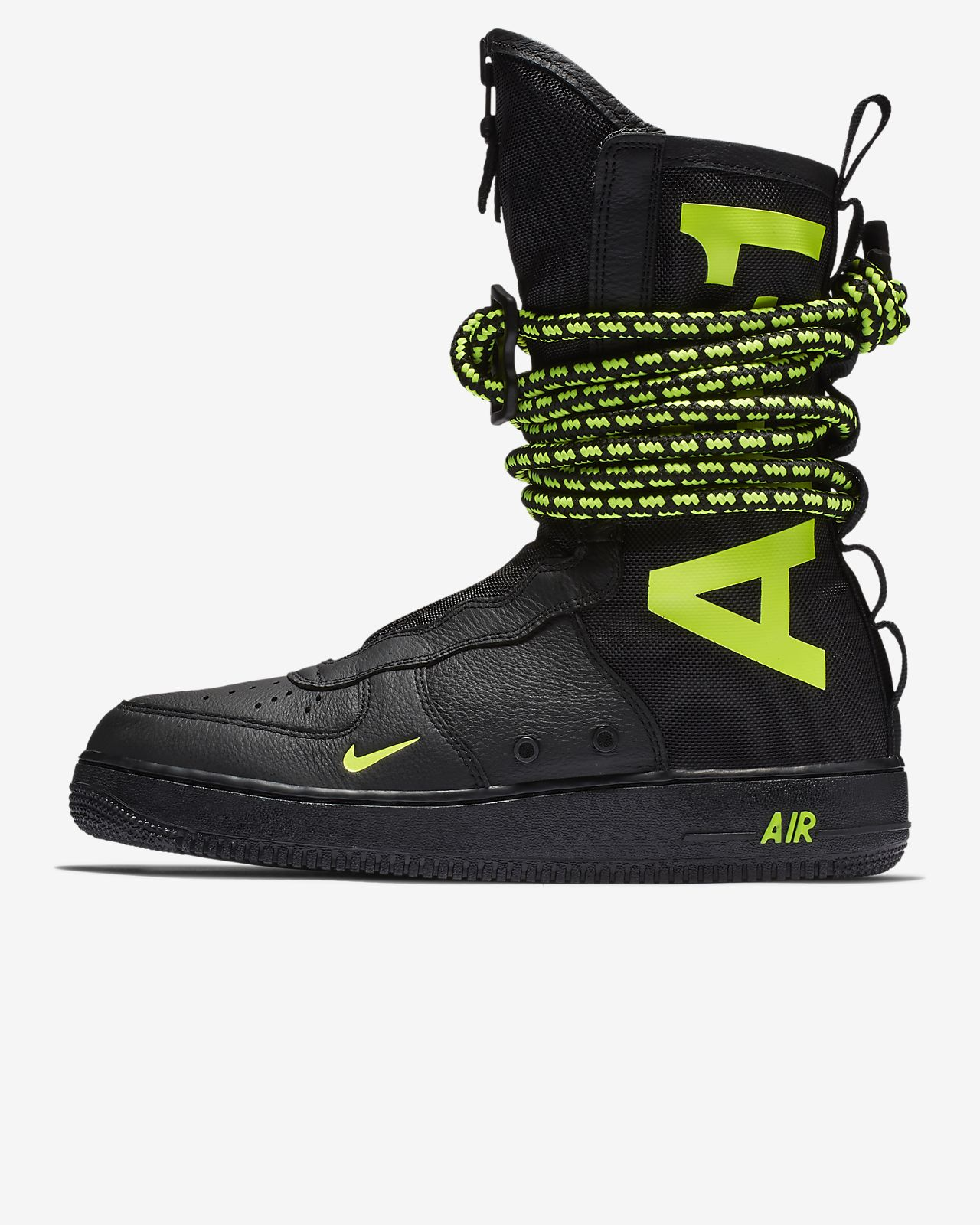 To acquire Force air nike 1 high top black pictures trends