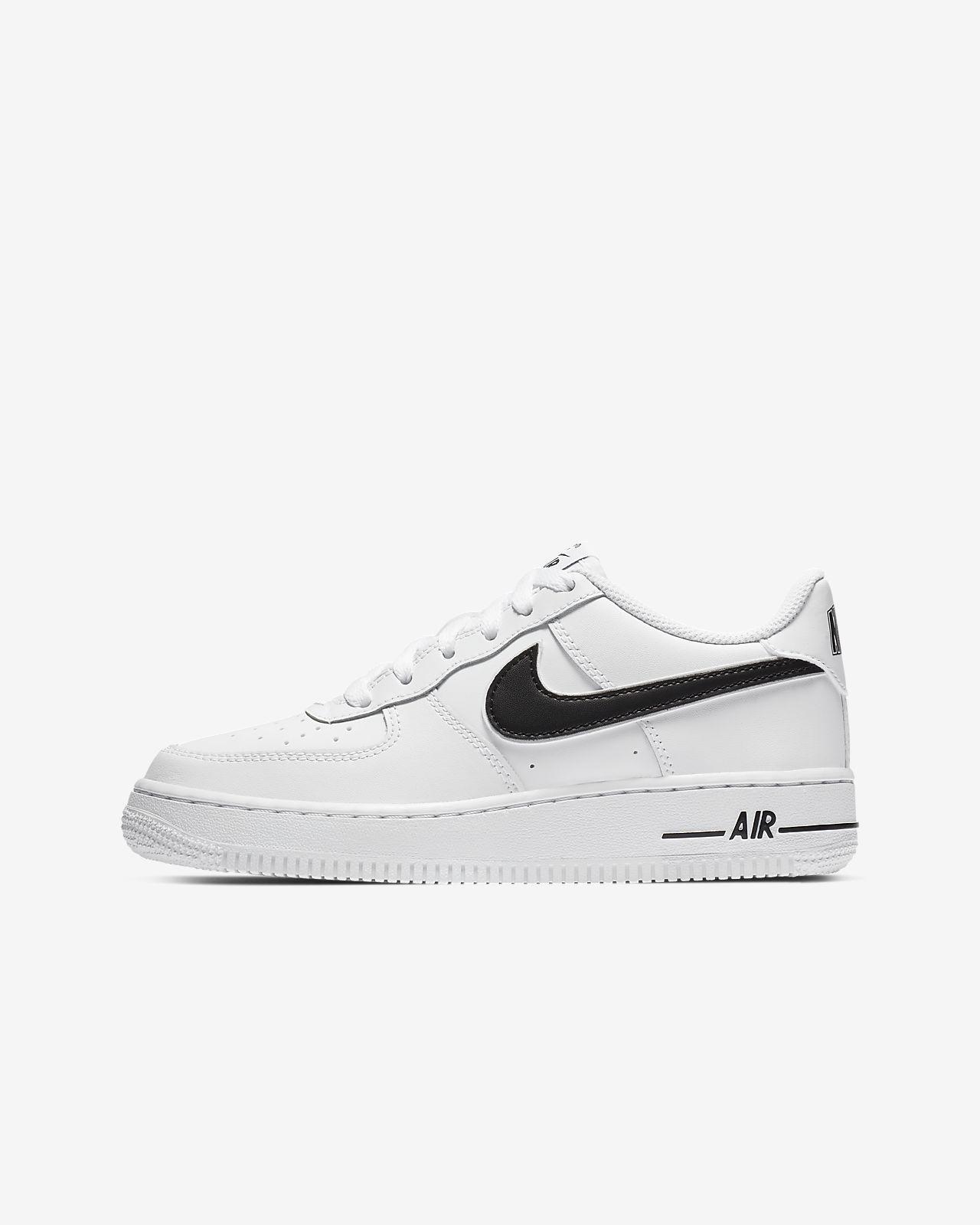 Nike Air Force 1 3 Calzado infantil blanco negro | WeAre Shop