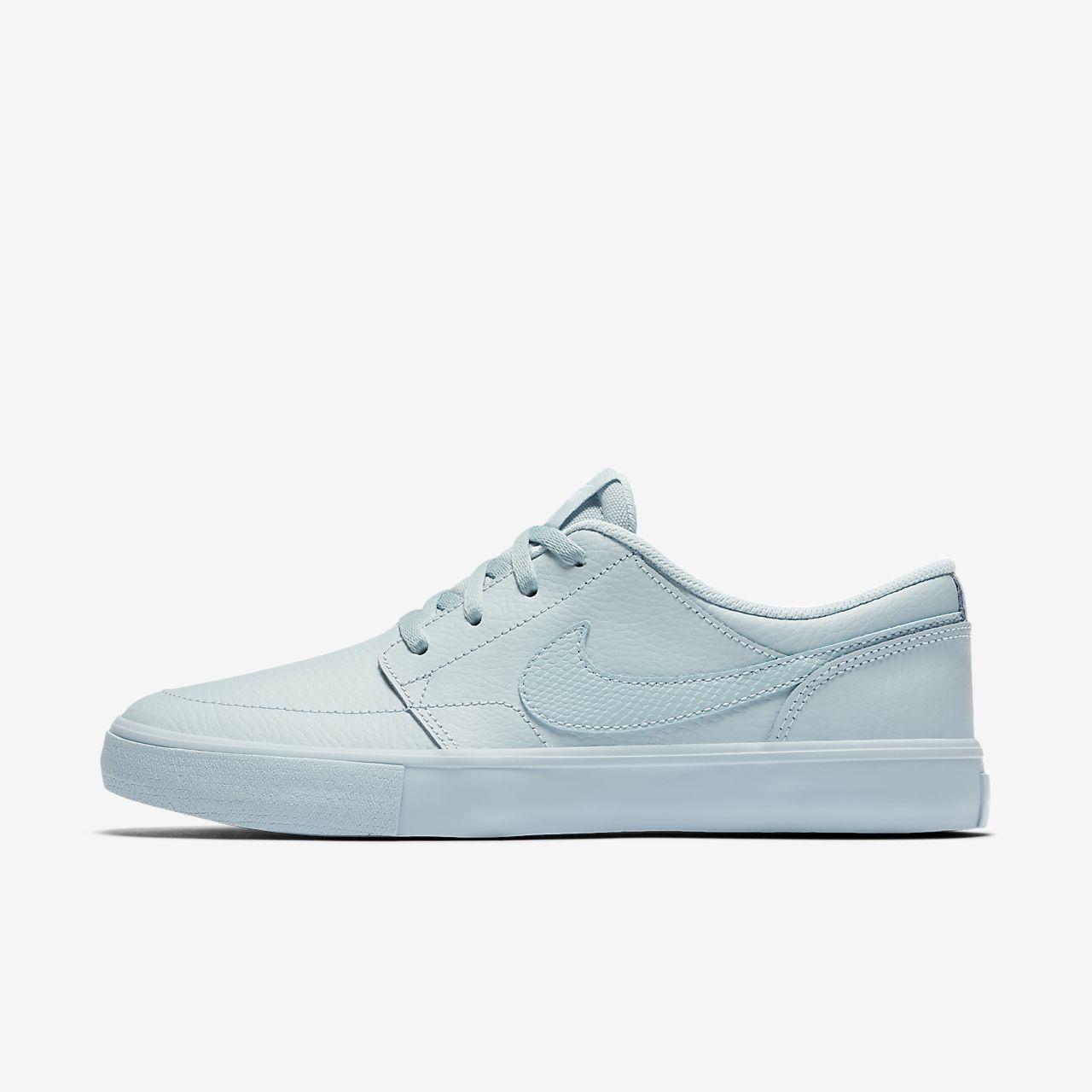 Nike SB Portmore II Damen-Skateboardschuh - Blau FT6pPt