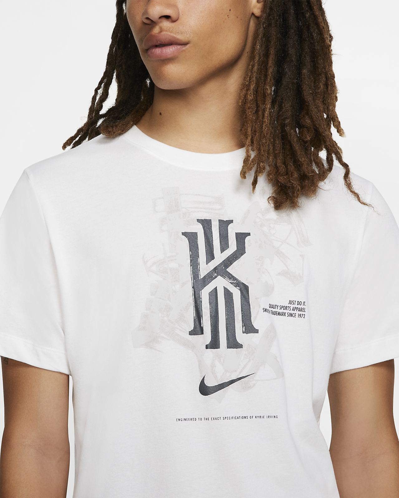 175669b5 Nike Dri-FIT Kyrie Men's Basketball T-Shirt. Nike.com AU