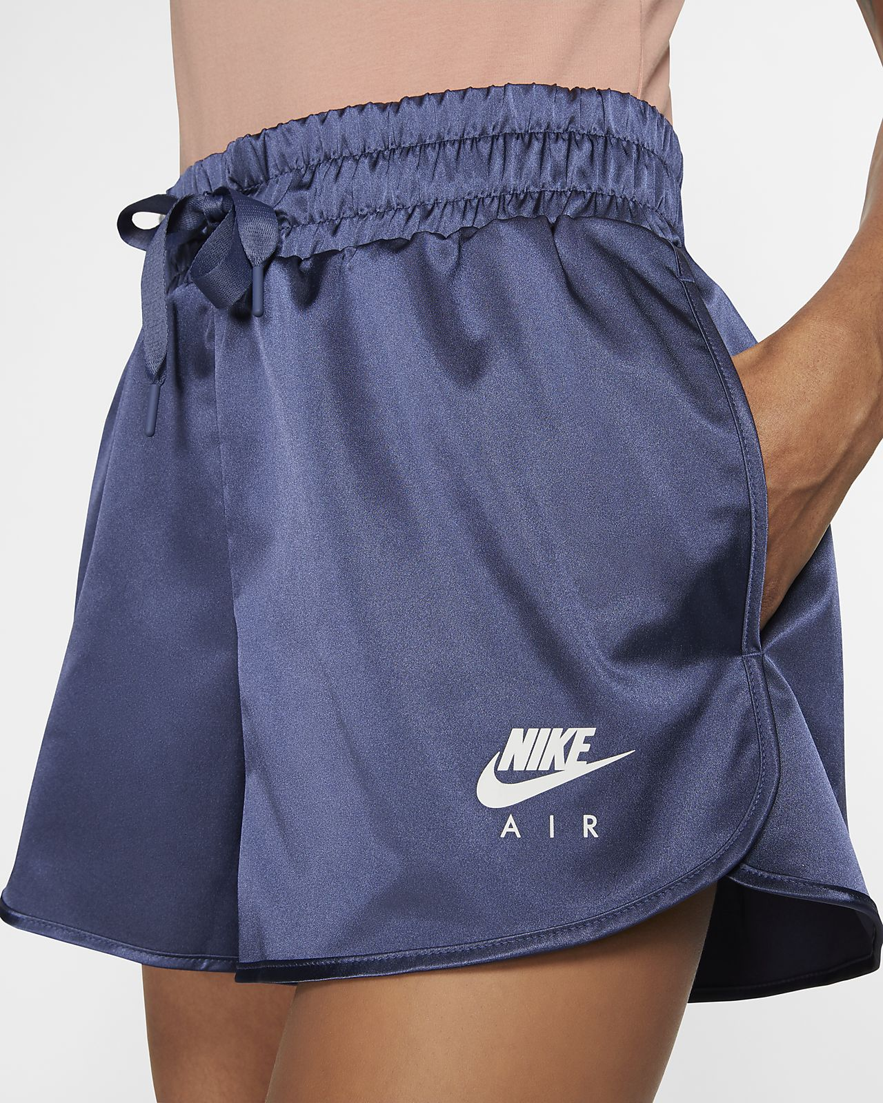 Short en satin Nike Air pour Femme