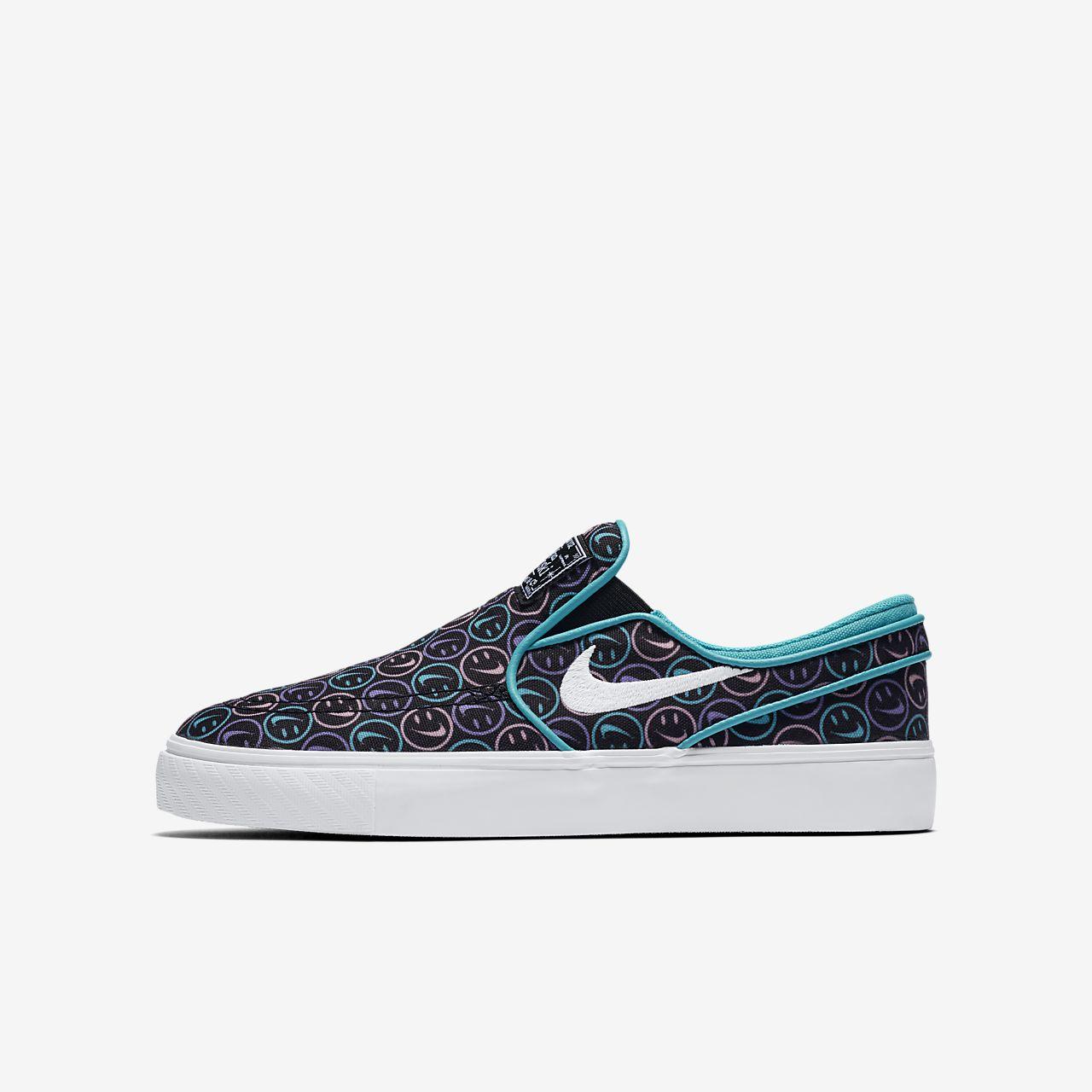 Nike SB Stefan Janoski Canvas Slip 大童滑板鞋