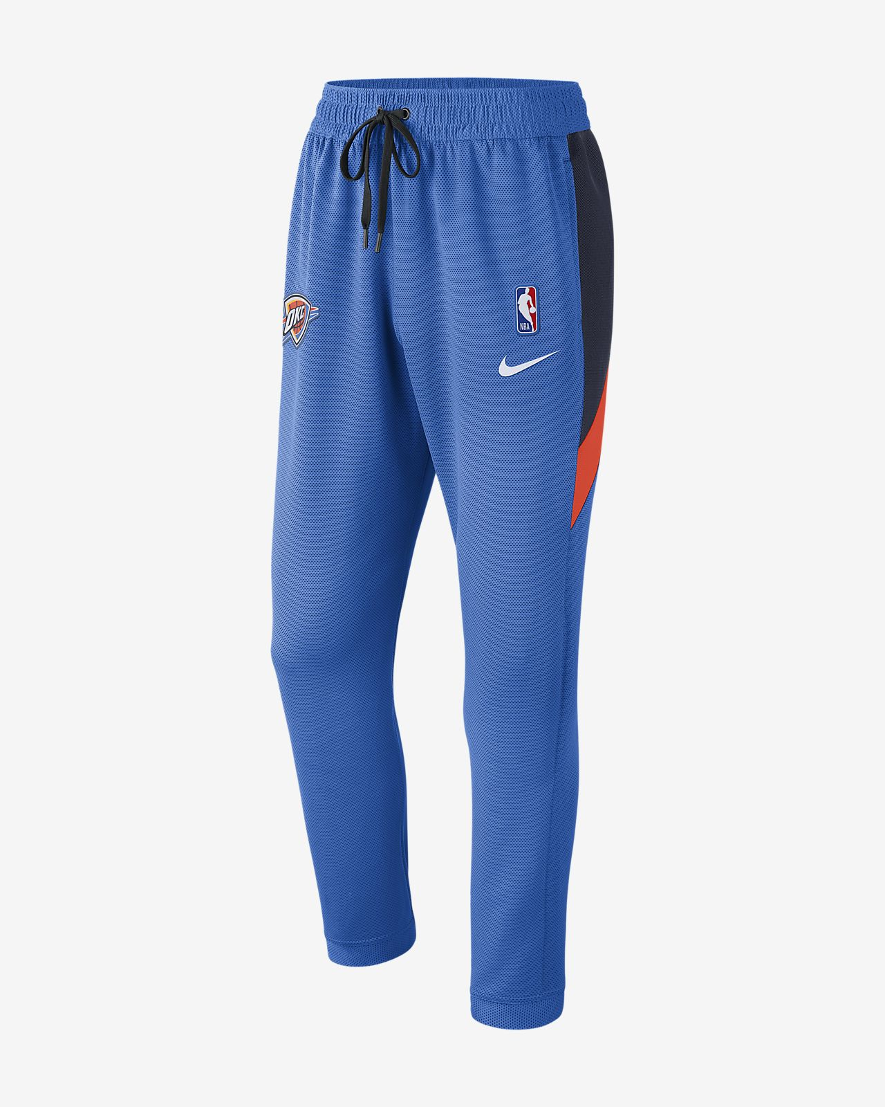 Oklahoma City Thunder Nike Therma Flex Showtime Pantalón de la NBA - Hombre