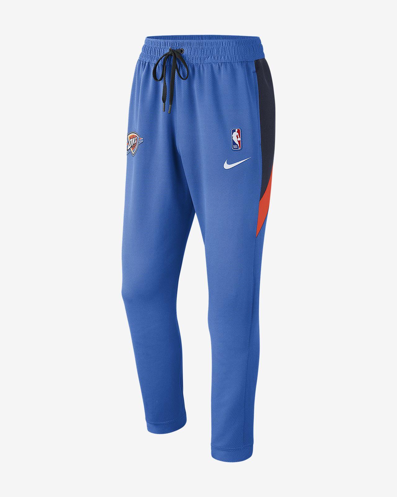 Spodnie męskie NBA Oklahoma City Thunder Nike Therma Flex Showtime