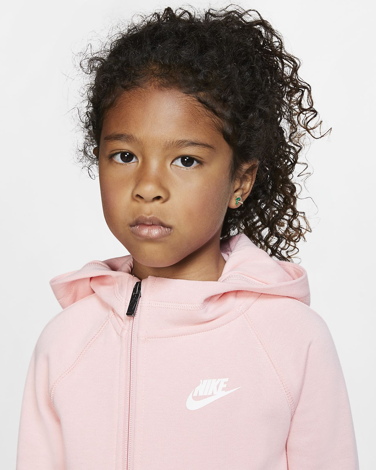 Nike Sportswear Tech Fleece Little Kids' Full Zip Hoodie