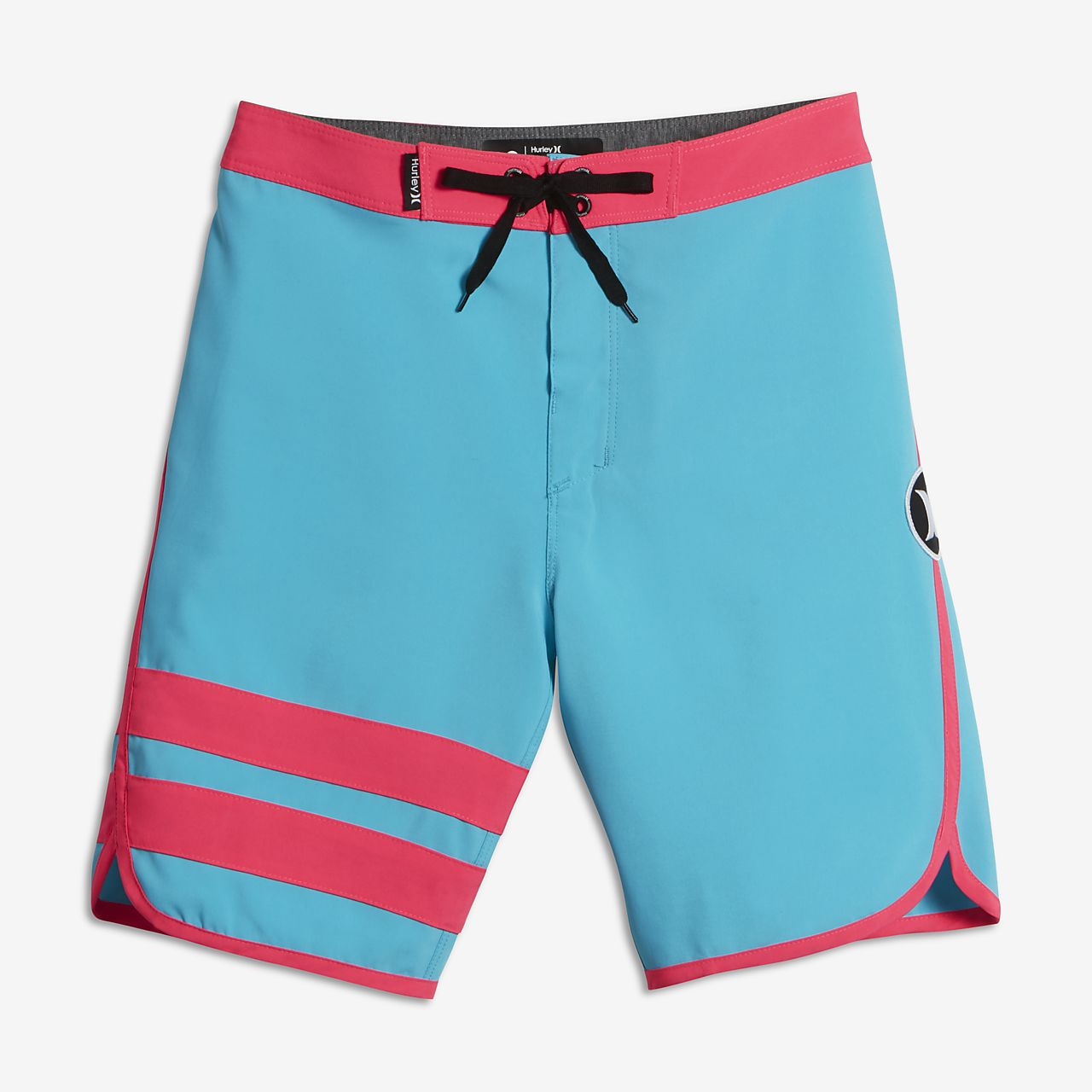 Hurley Block Party Big Kids' Board Shorts Blue