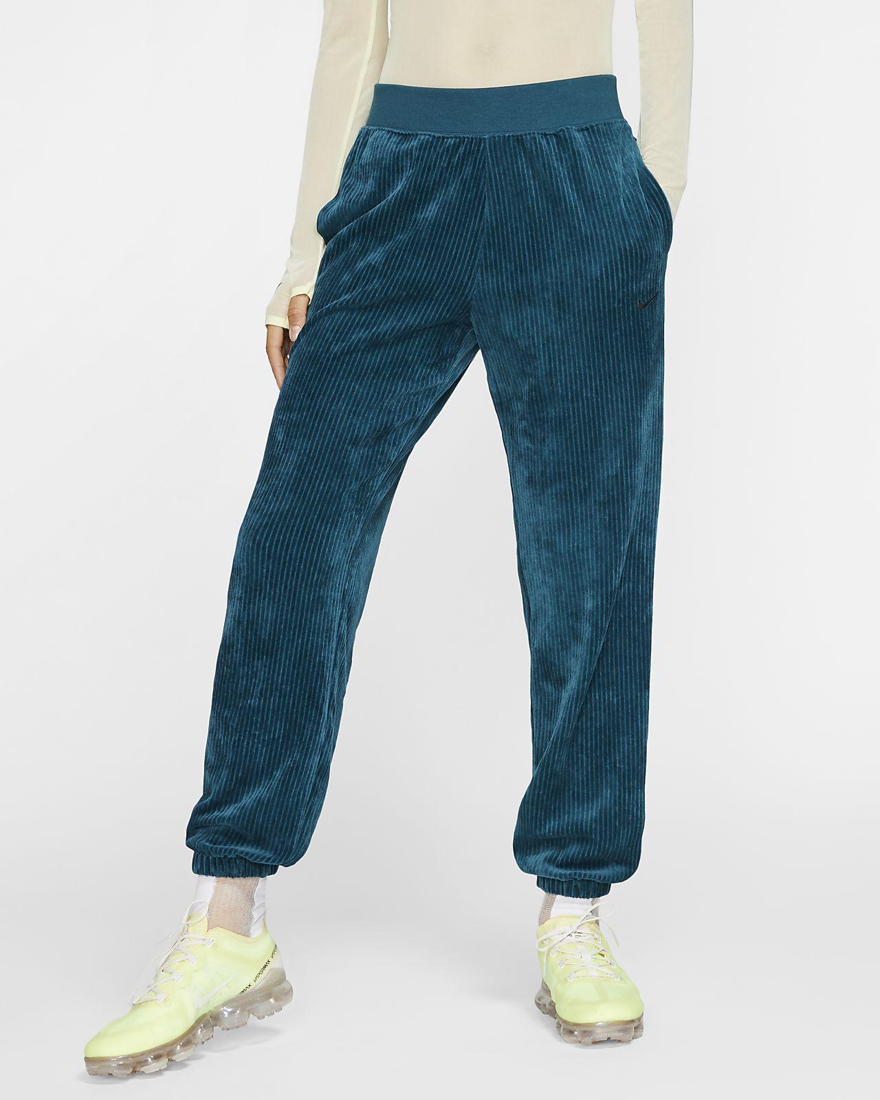 Damskie spodnie welurowe Nike Sportswear