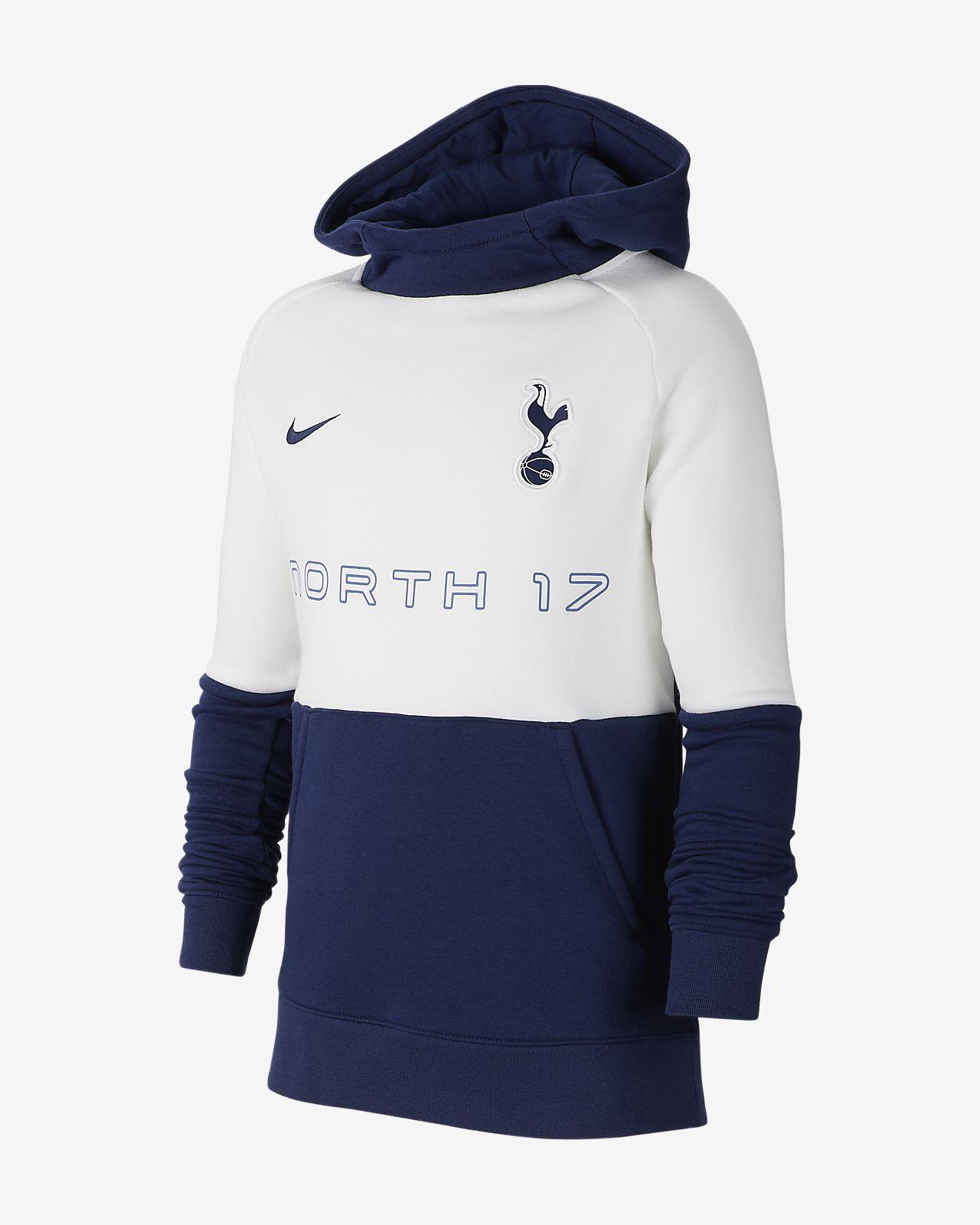 Sudadera con capucha sin cierre de tejido Fleece para niños talla grande Tottenham Hotspur FC