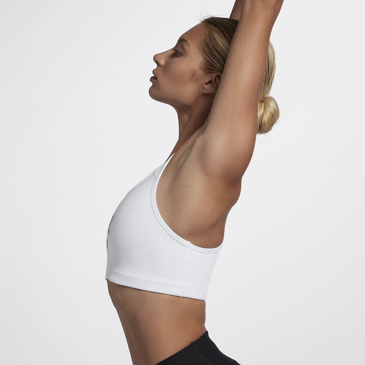 d2fadb343 Bra a sostegno medio Nike Swoosh Futura - Donna. Nike.com IT