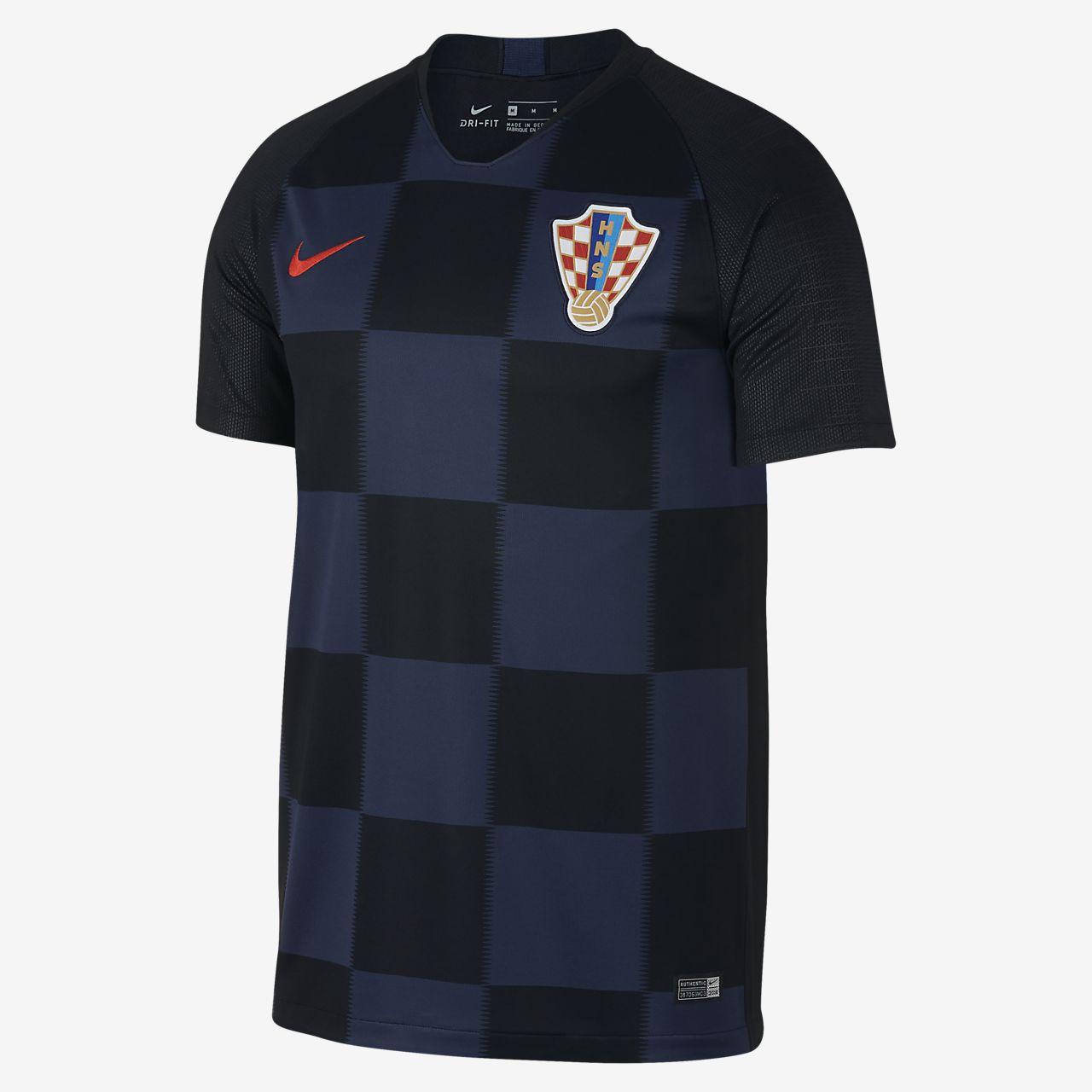 cd5e8ecface 2018 Croatia Stadium Away Men s Football Shirt. Nike.com DK
