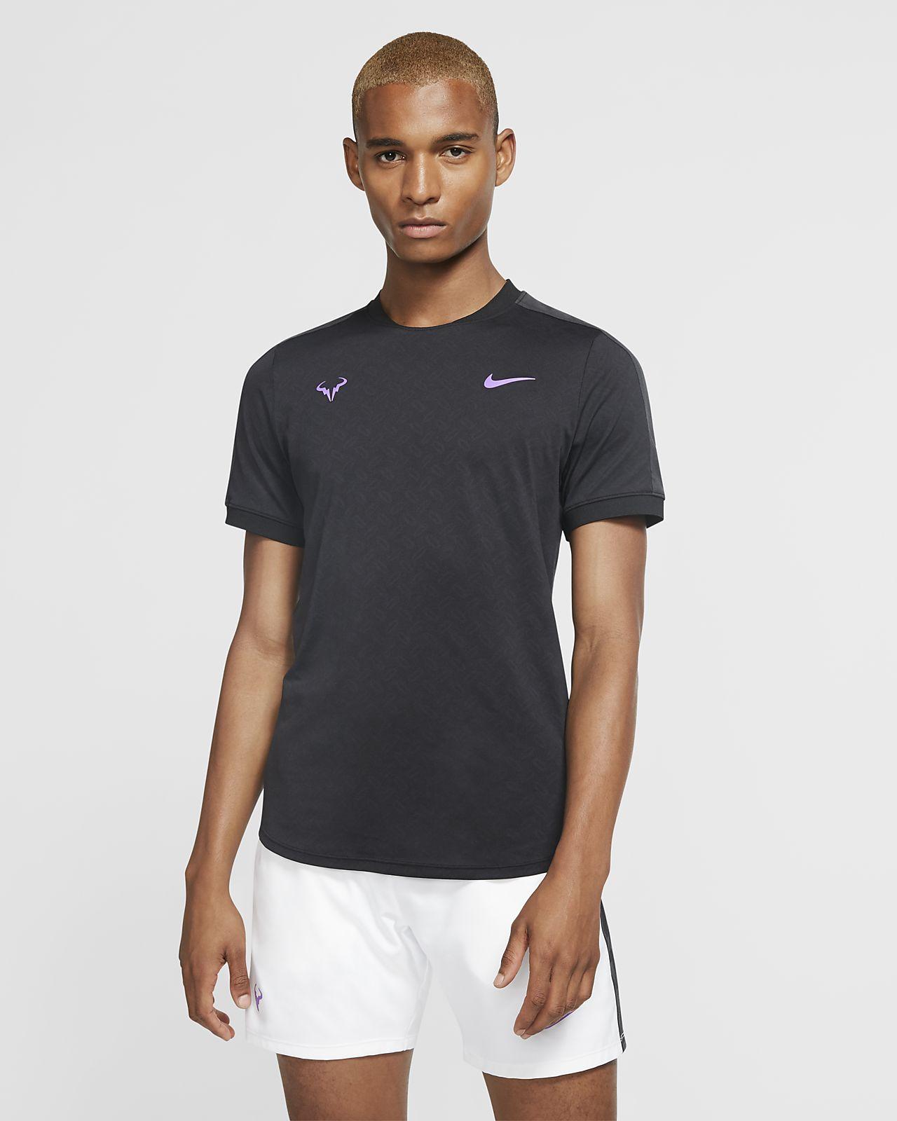NikeCourt AeroReact Rafa Herren-Tennisoberteil