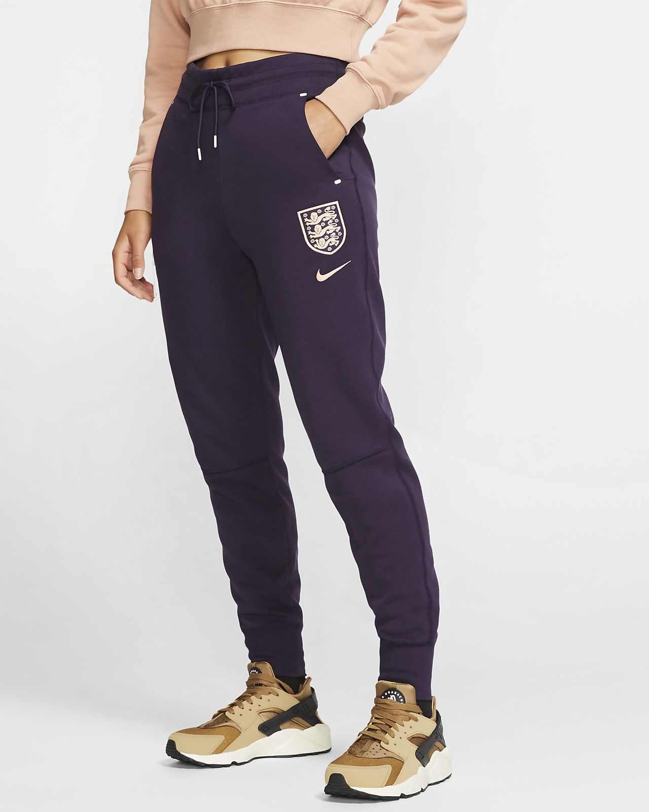 England Tech Fleece Damen-Fußballhose
