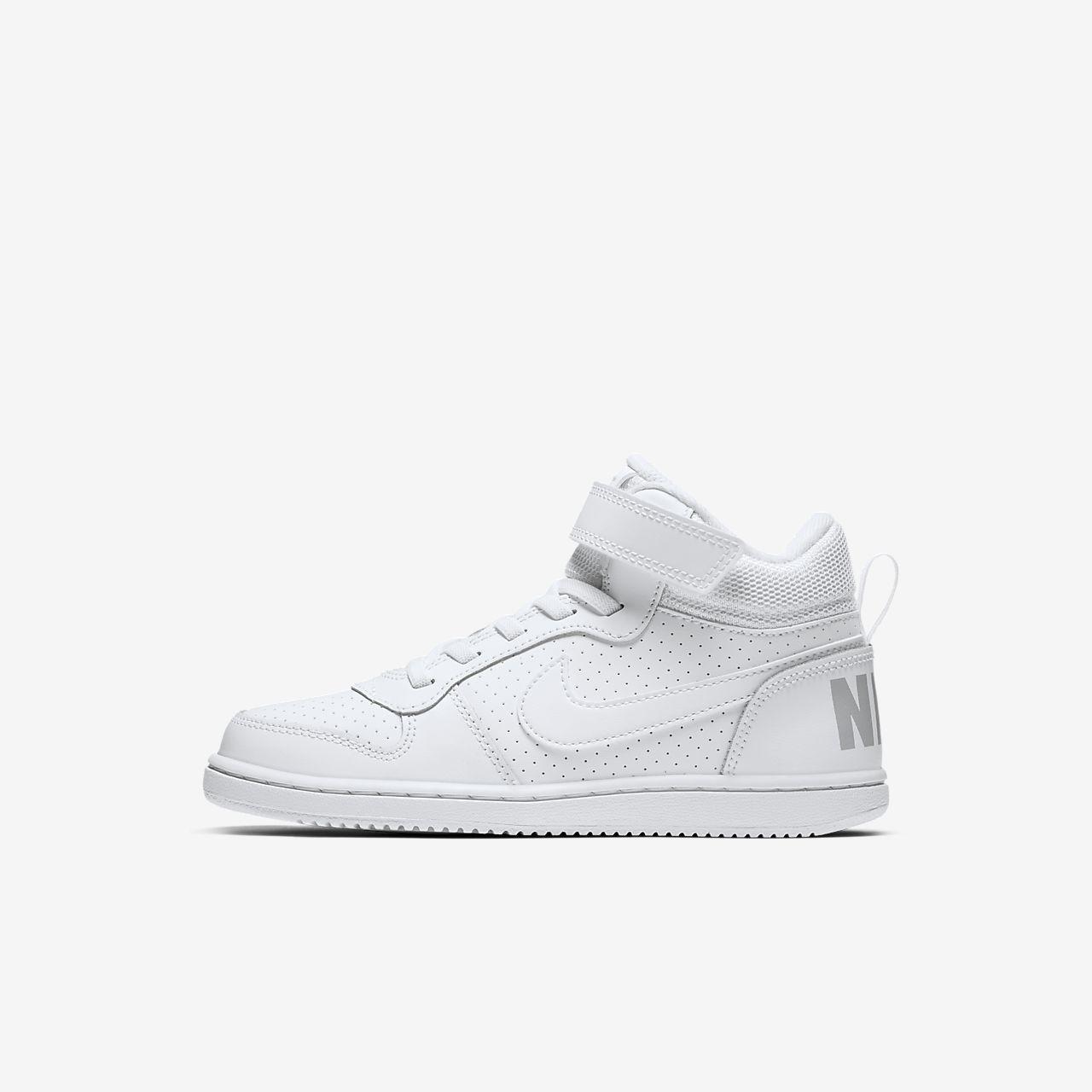 NikeCourt Borough Mid Schuh für jüngere Kinder