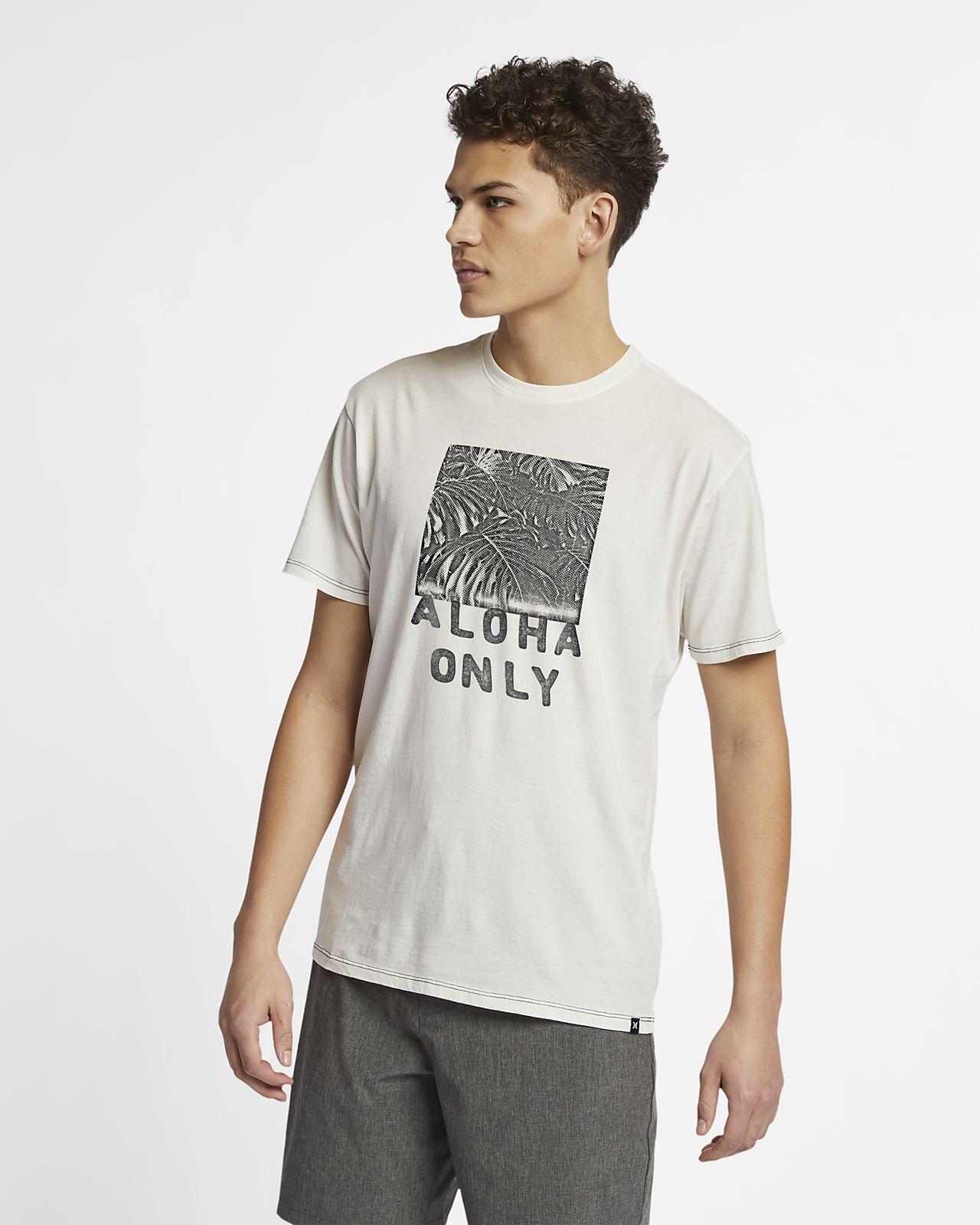 T-shirt Hurley Aloha Only para homem