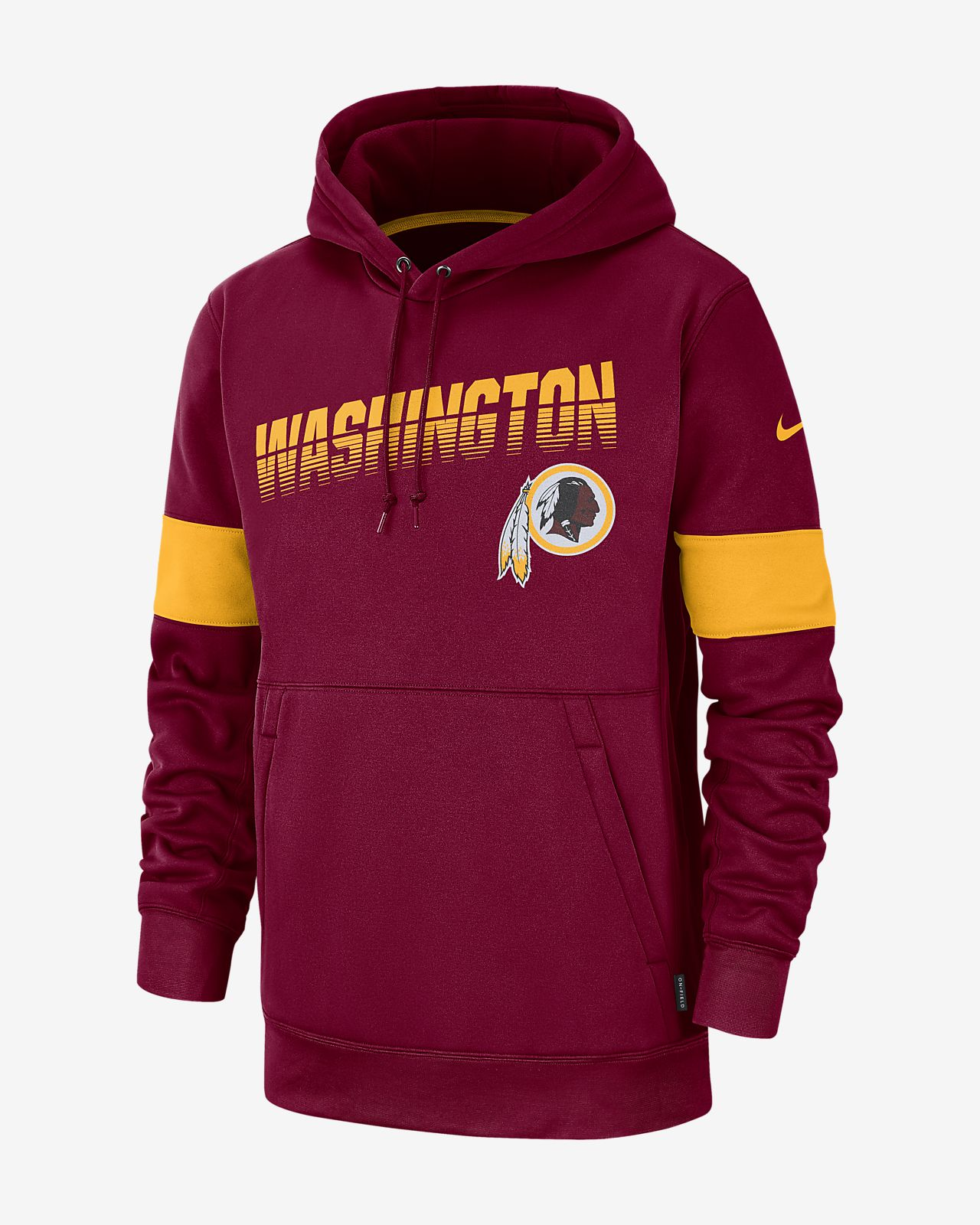 pretty nice 2e8a9 85b5a Nike Therma (NFL Redskins) Men's Hoodie