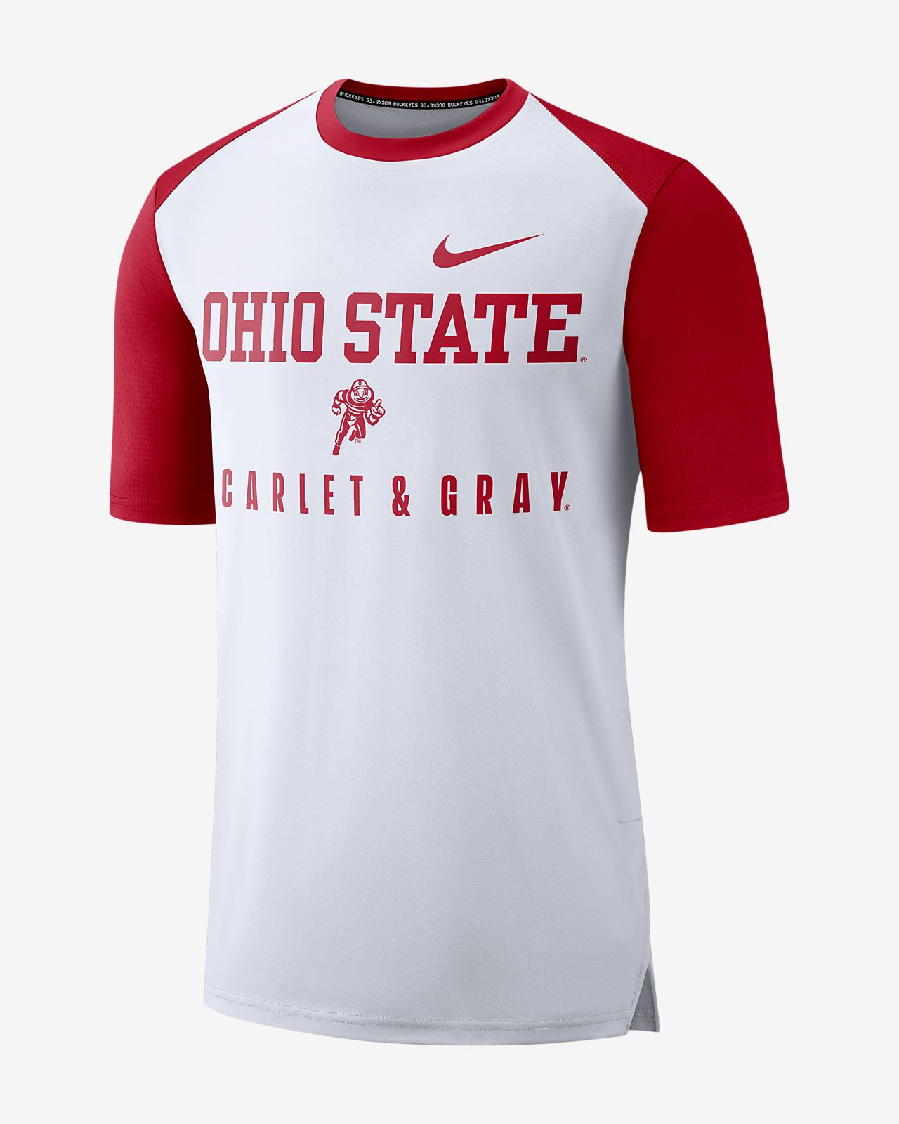 c9185ab38fc5 Nike College Breathe (Ohio State) Men s Top. Nike.com