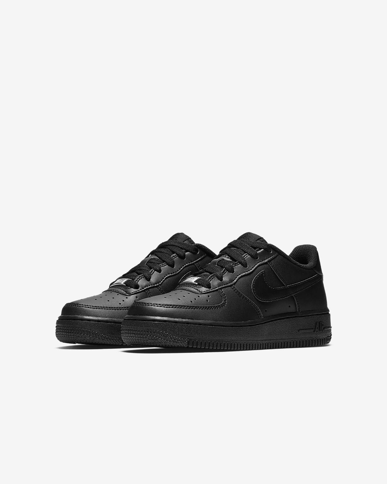 All Black NIKE Air Force 1 | Nike air, Nike air force, Nike af1