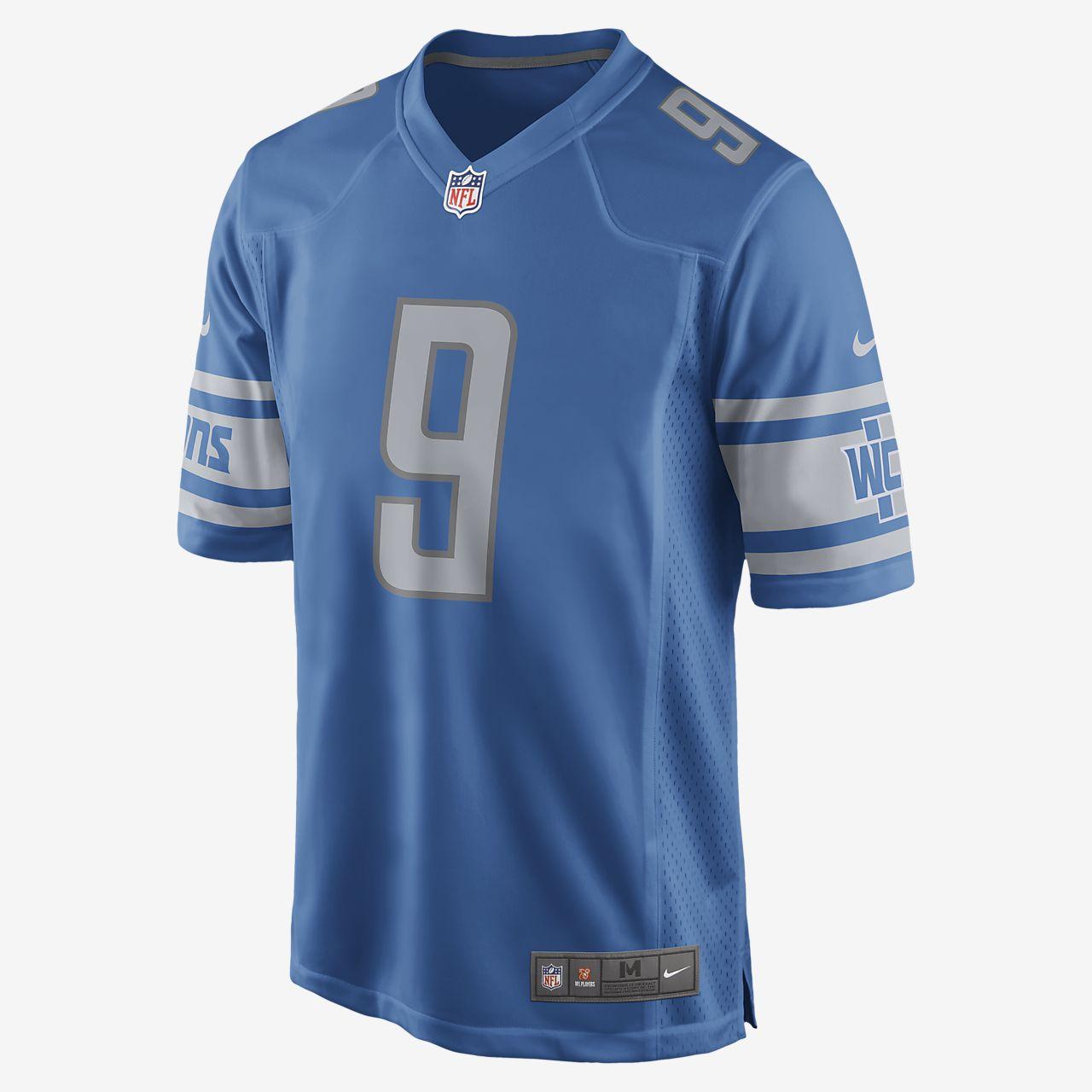 NFL Detroit Lions (Matthew Stafford) Men's Game Football Jersey