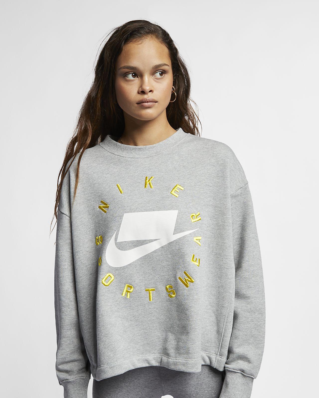 644c2c992ec6f9 Nike Sportswear NSW Women s French Terry Crew. Nike.com