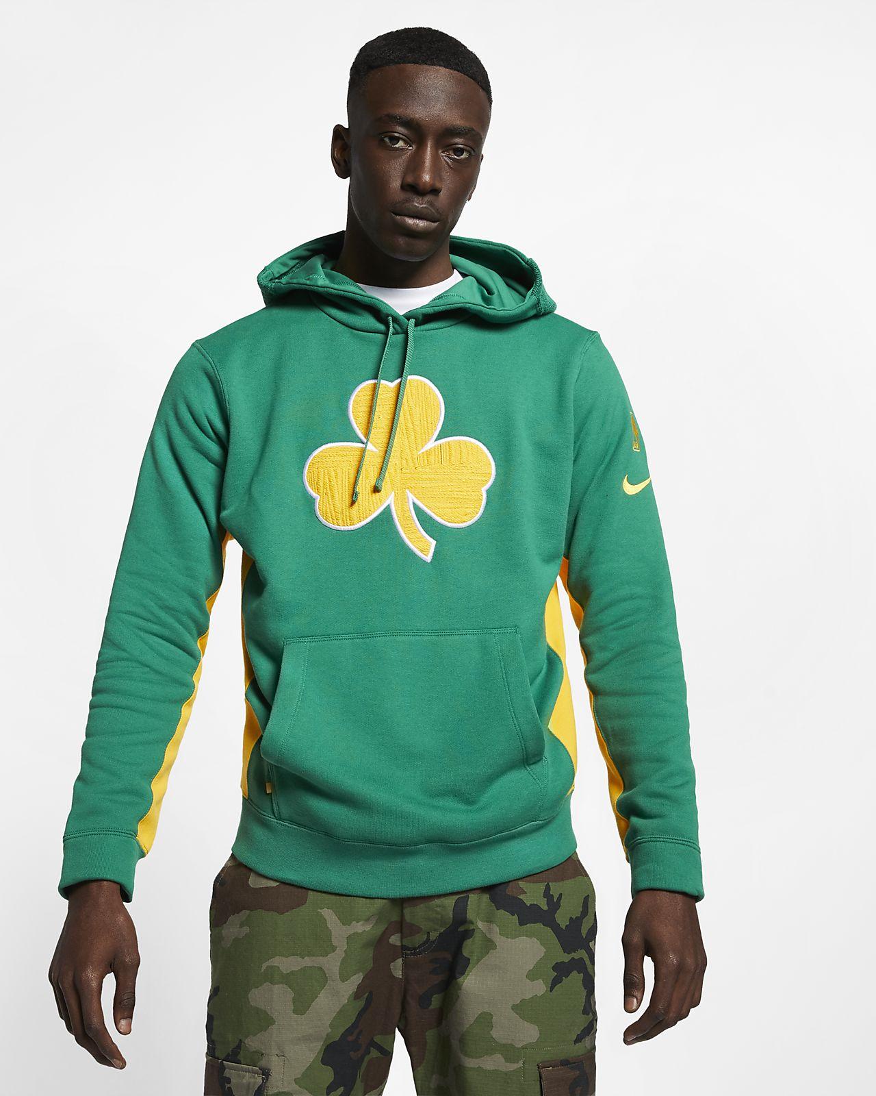 Sudadera con capucha de la NBA para hombre Boston Celtics Nike