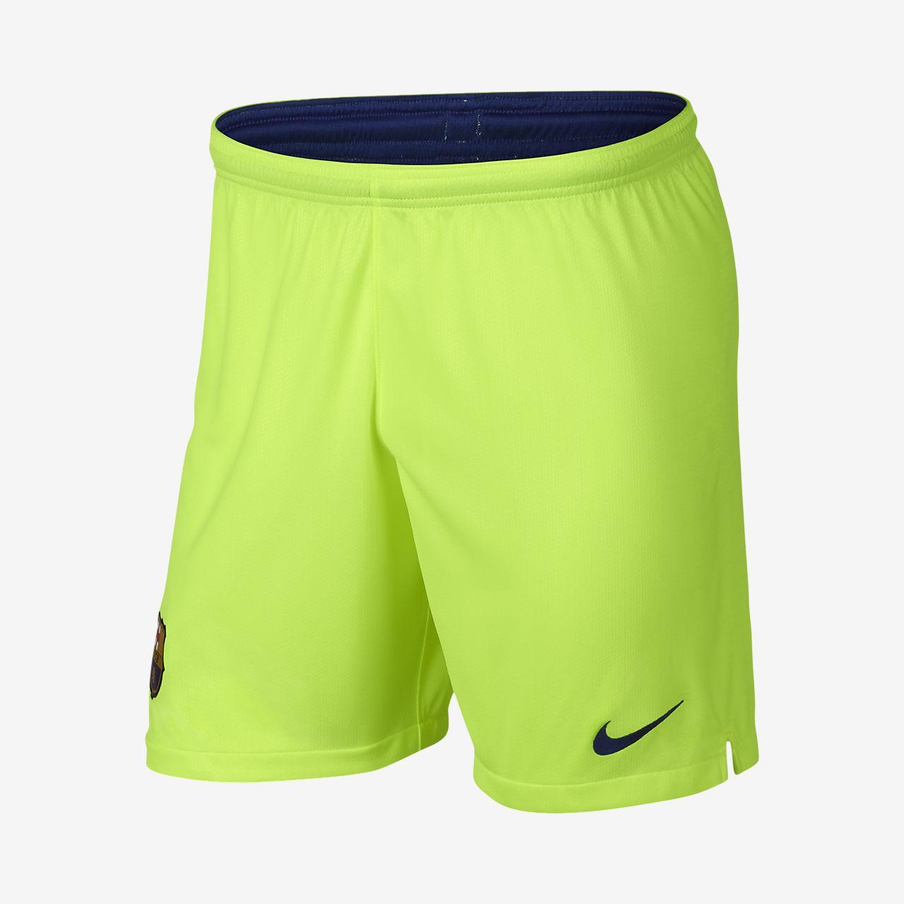 2018 19 FC Barcelona Stadium Away Men s Football Shorts. Nike.com GB 0c10cf4c13694