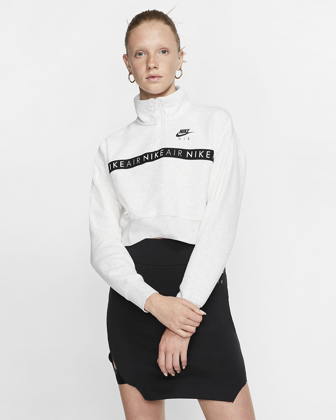 Damska bluza z zamkiem 1/2 Nike Air