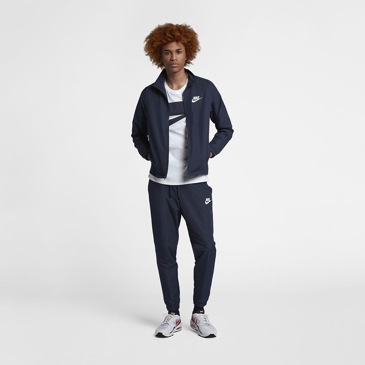Męski dres z tkaniny Nike Sportswear