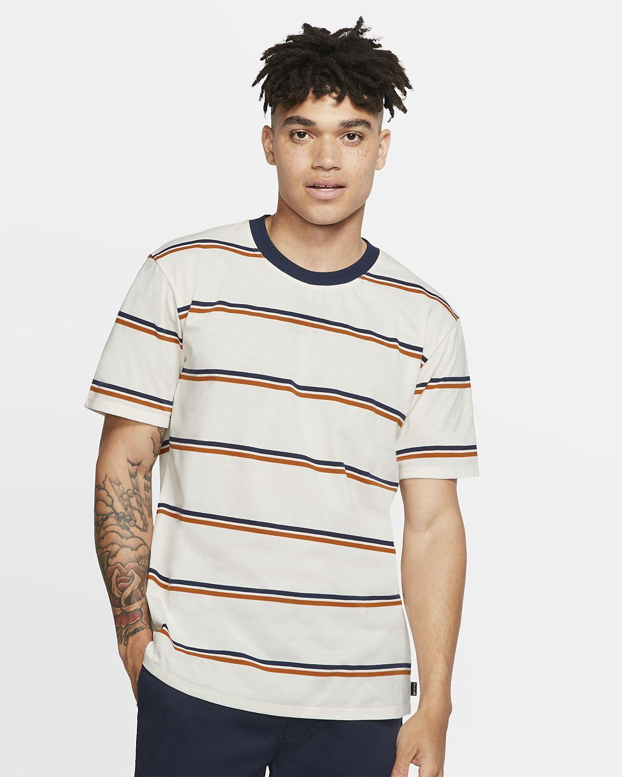 Hurley Dri-FIT Harvey Stripe Men's Short-Sleeve Top