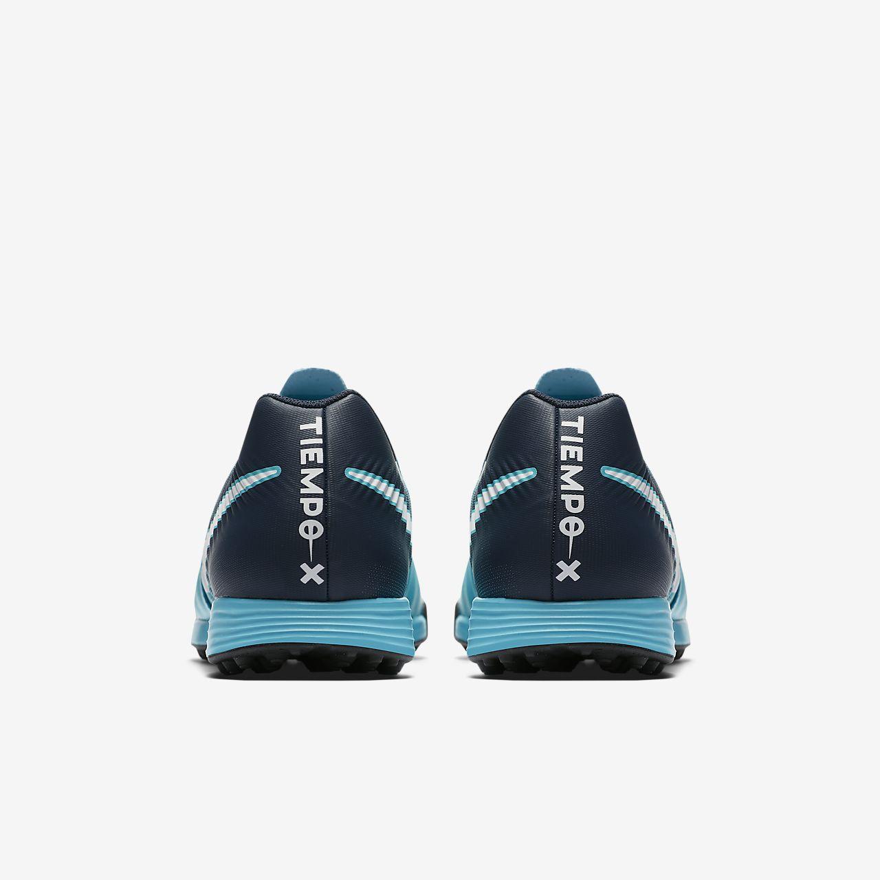 ... black metallic vivid; nike tiempox ligera iv artificial turf soccer shoe