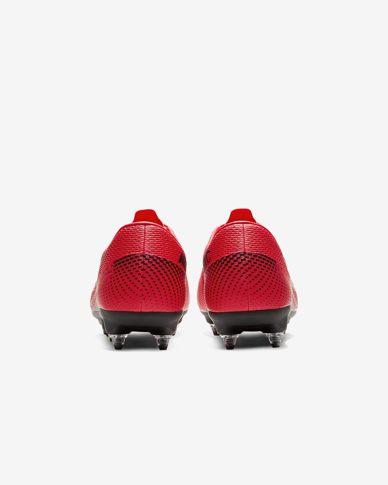Nike Mercurial Vapor 13 Academy SG PRO Anti Clog Traction Soft Ground Football Boot