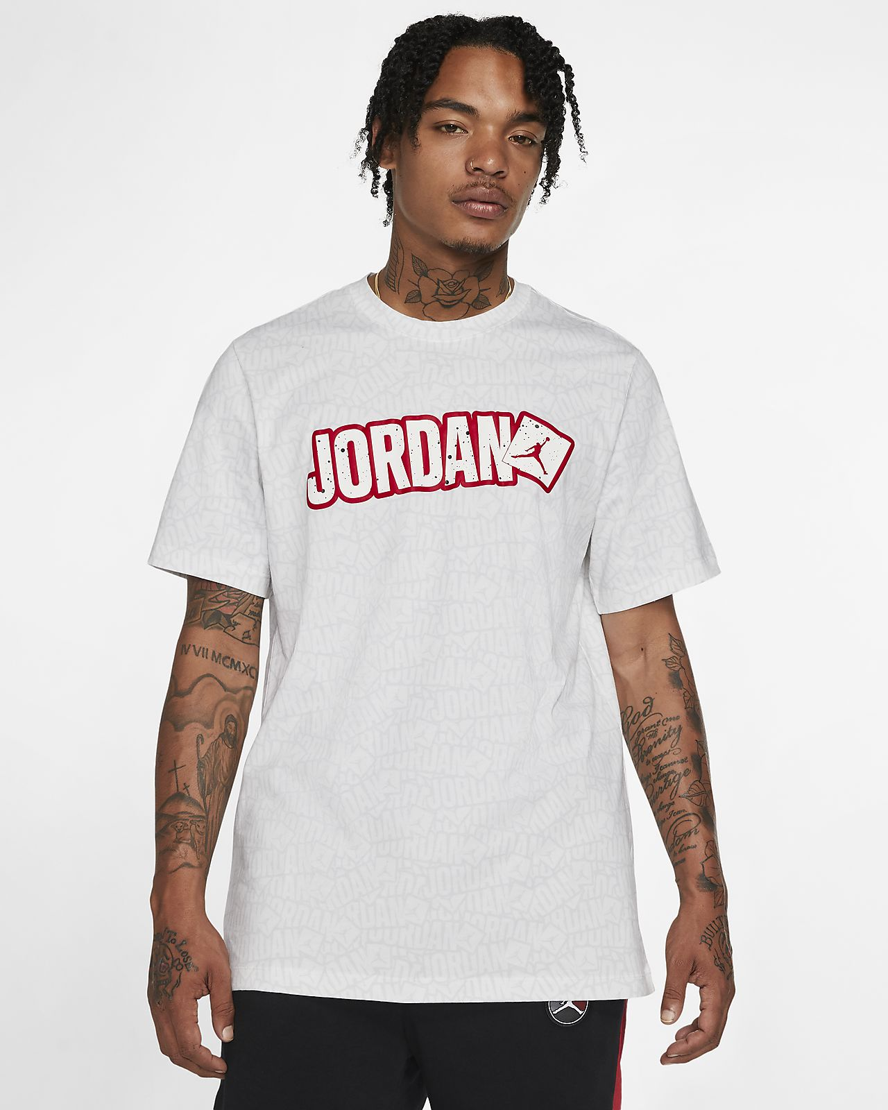 T shirt Jordan Jumpman Sticker Uomo