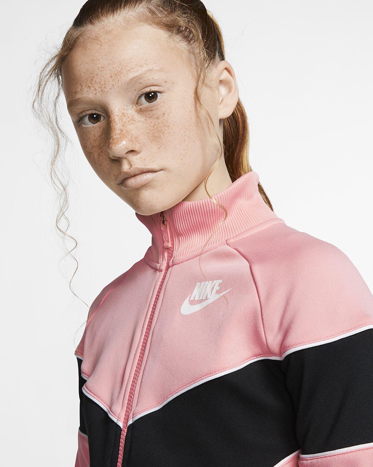 Nike Sportswear Full Zip Training Jacket Girls