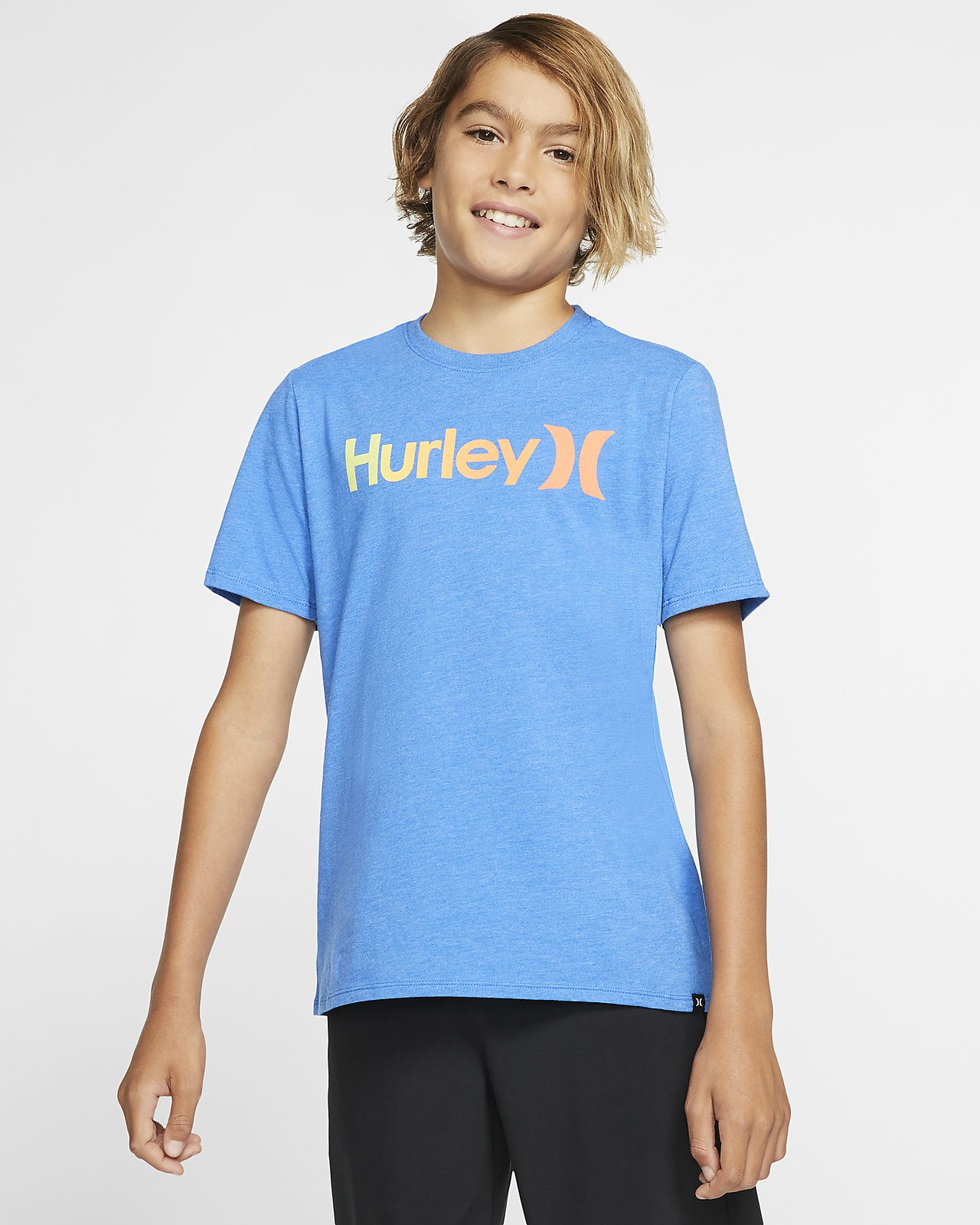 Hurley Premium One And Only Gradient 2.0 Boys' T-Shirt