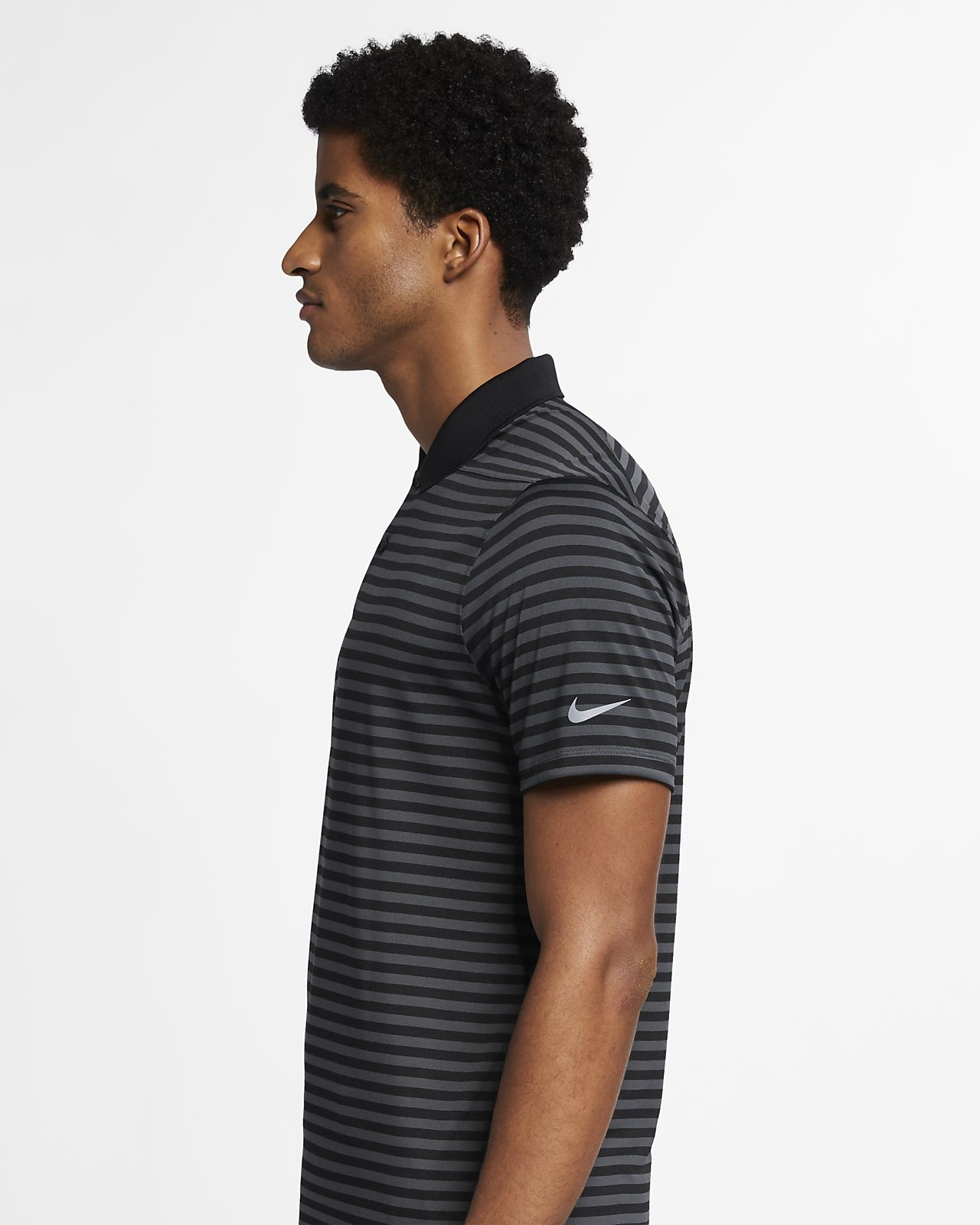 ea71d022 Nike Dri-FIT Victory Men's Striped Golf Polo. Nike.com GB