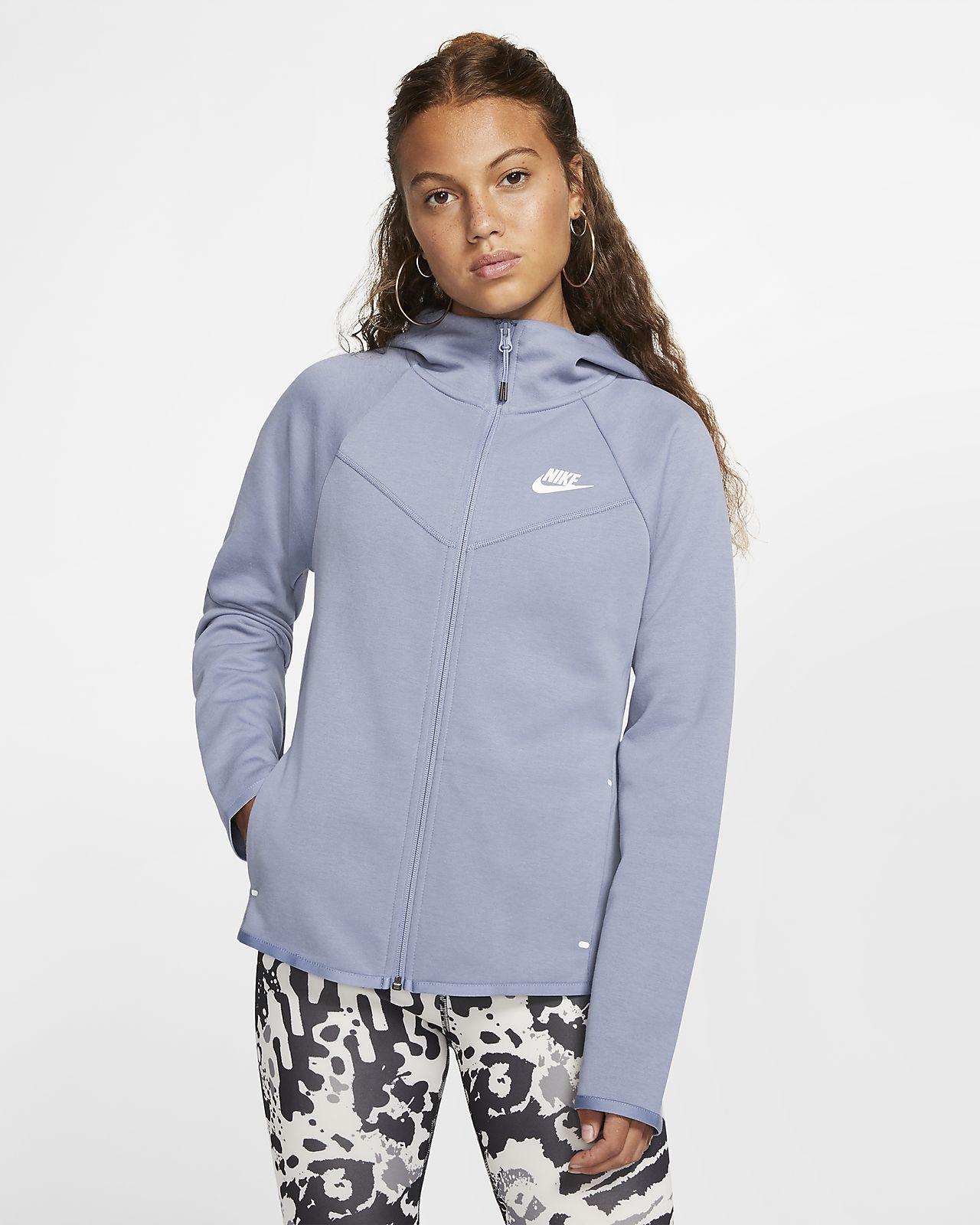 : Nike Women's Sportswear Tech Fleece Full Zip